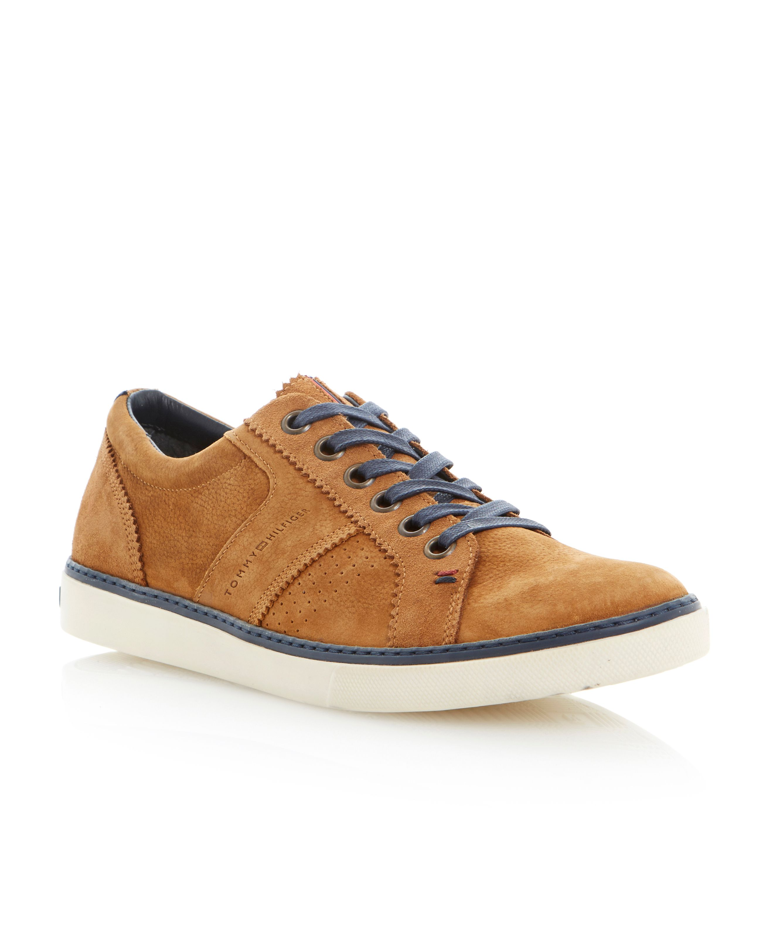 Cliffdale 8n contrast lace smart sneakers