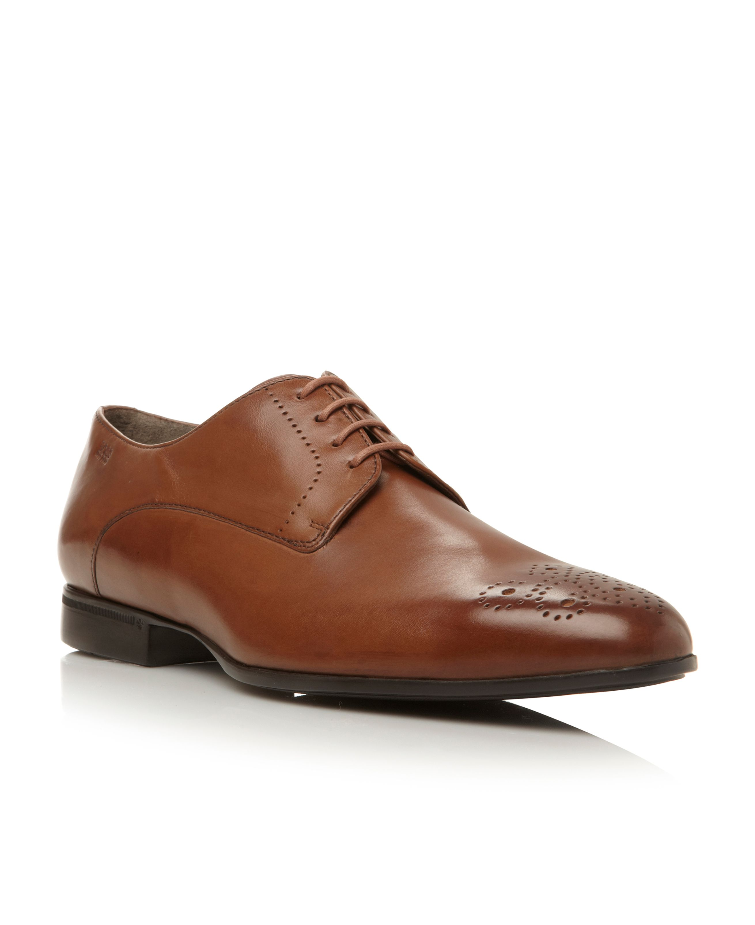 Neviss lace up brogue toe gibson shoes