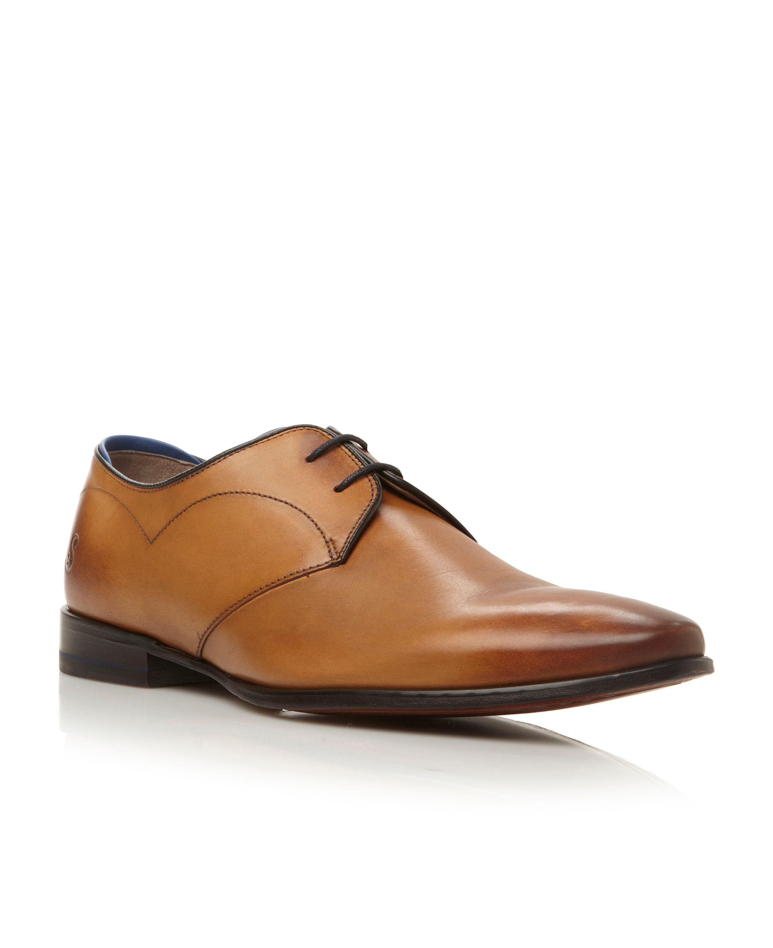 Morsang lace up 2 eye plain toe gibson shoes