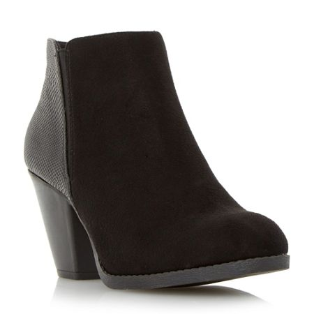 Head Over Heels Pasqua cuban heel ankle boots