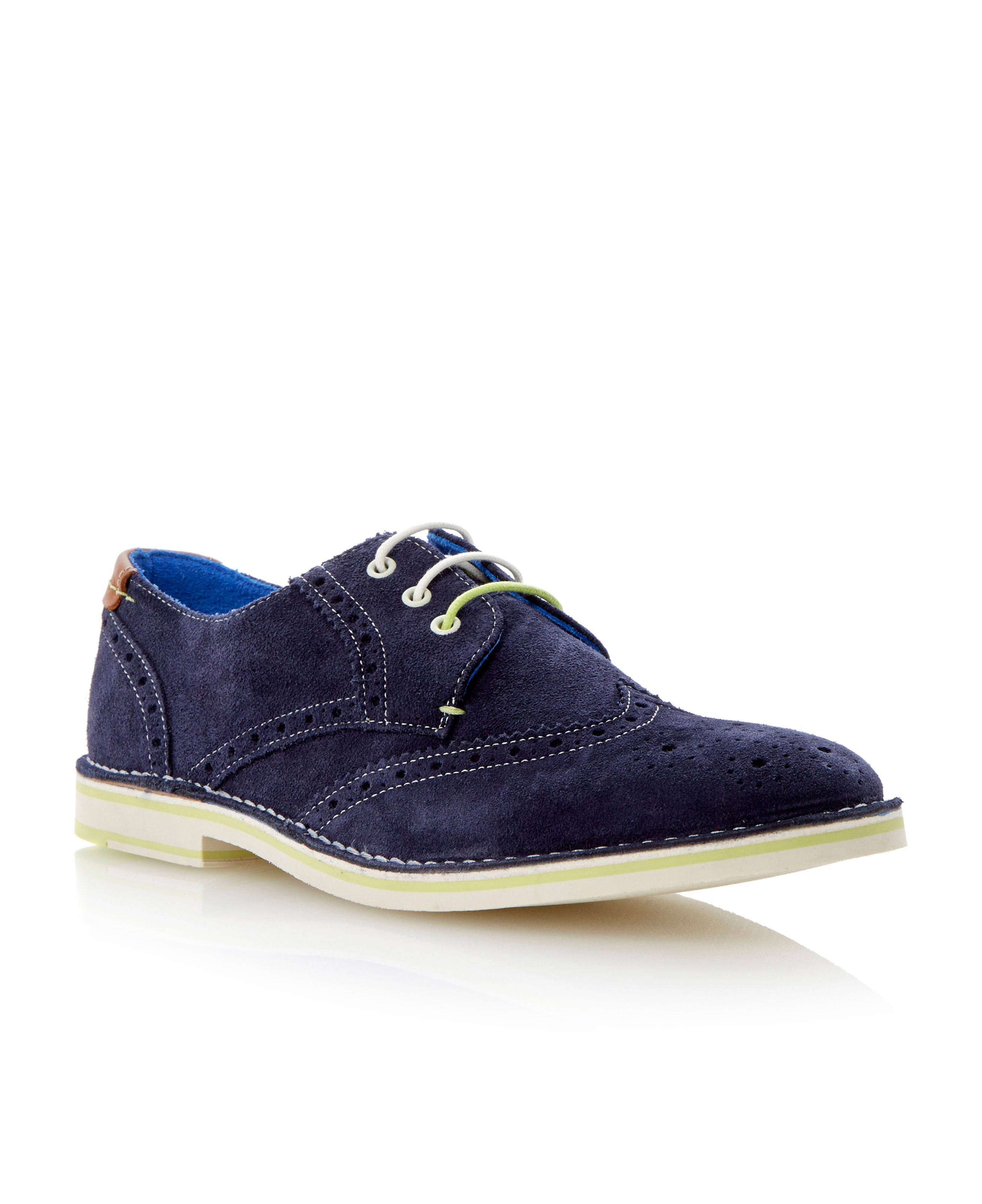 Jamfro 3 lace up brogue desert shoes