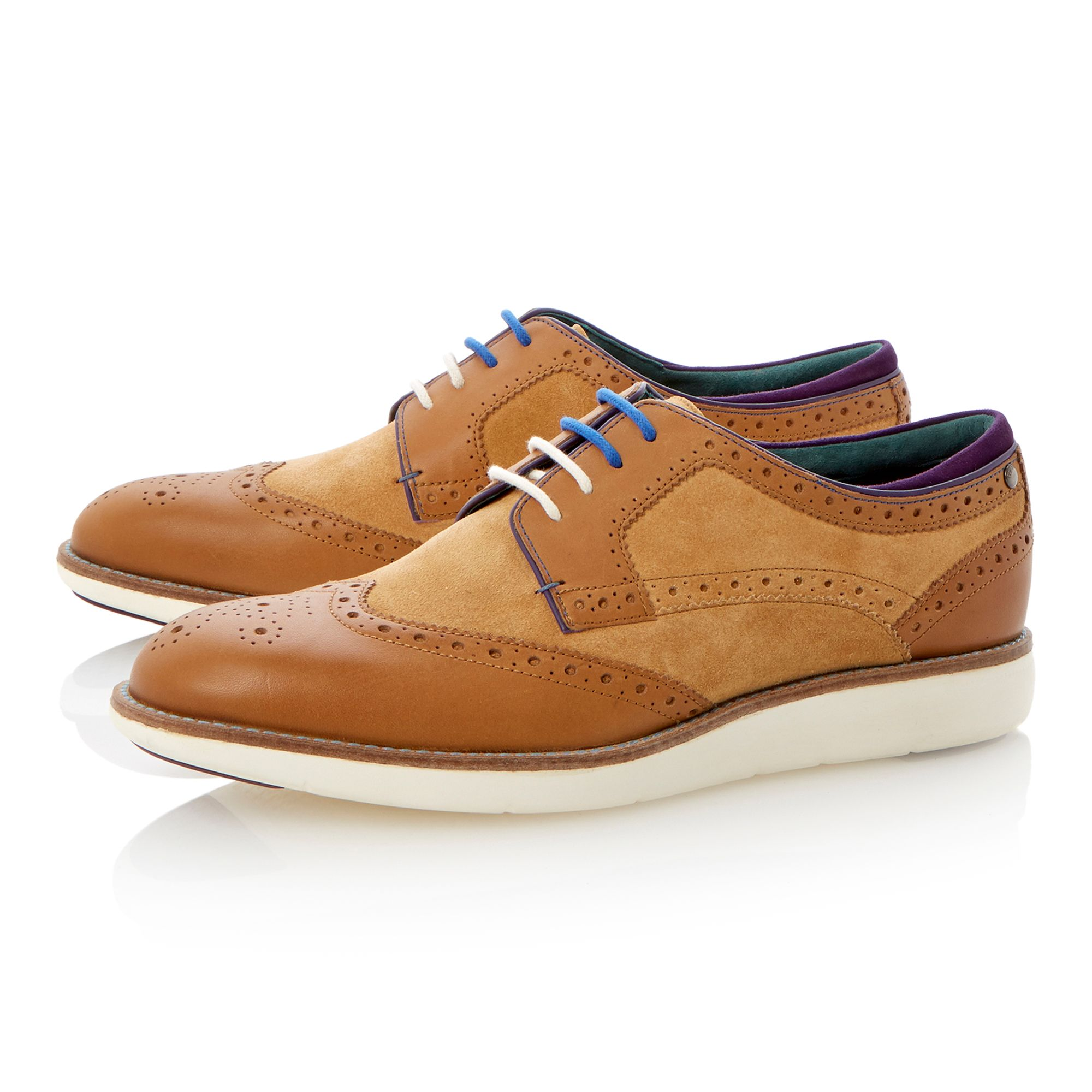 Treey lace up extralight sole brogues