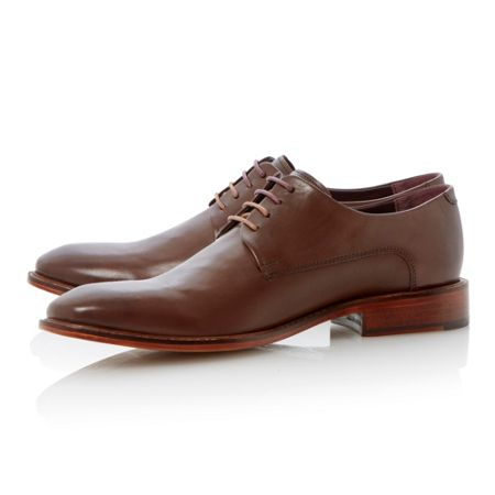 Ted Baker Irron 2 lace up round toe eyelet derby shoes