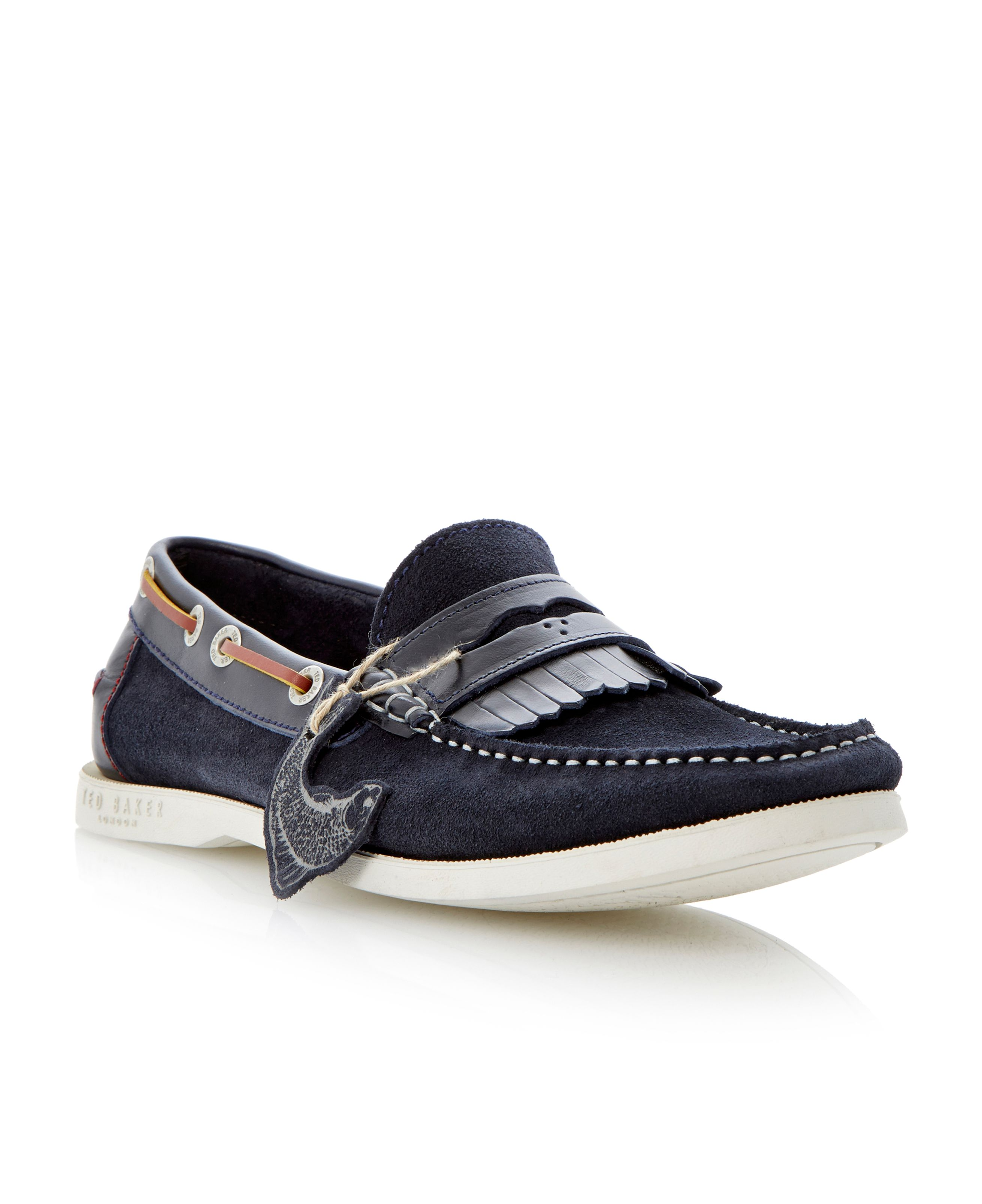 Waave fringe saddle loafers
