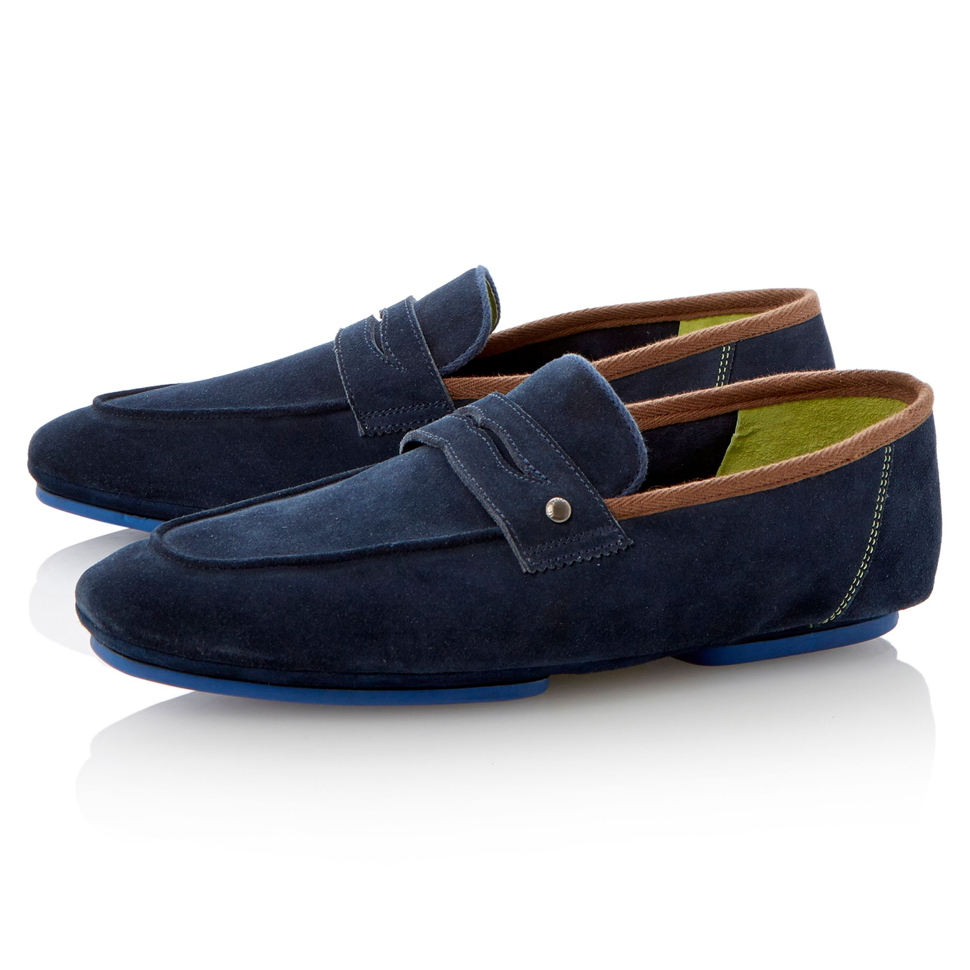 Smyyth unlined moccasin sandals