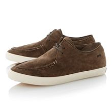 Motel lace up wallaby style casual shoes