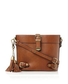 Lyla buckle strap cross body bag