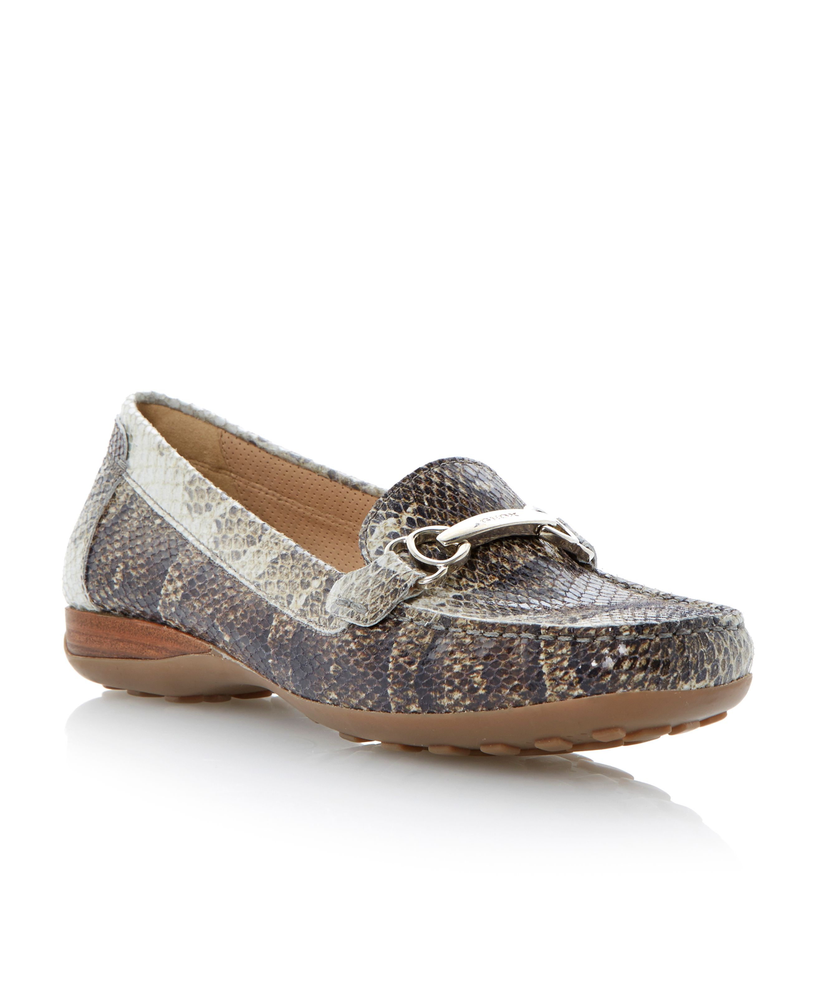 Donna euro square casual moccasin shoes