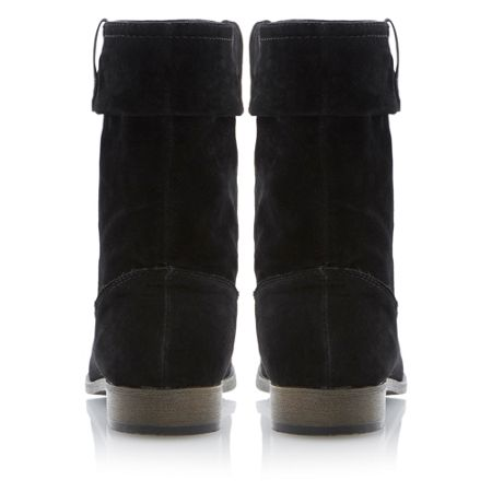 Head Over Heels Rilee ruched calf boots