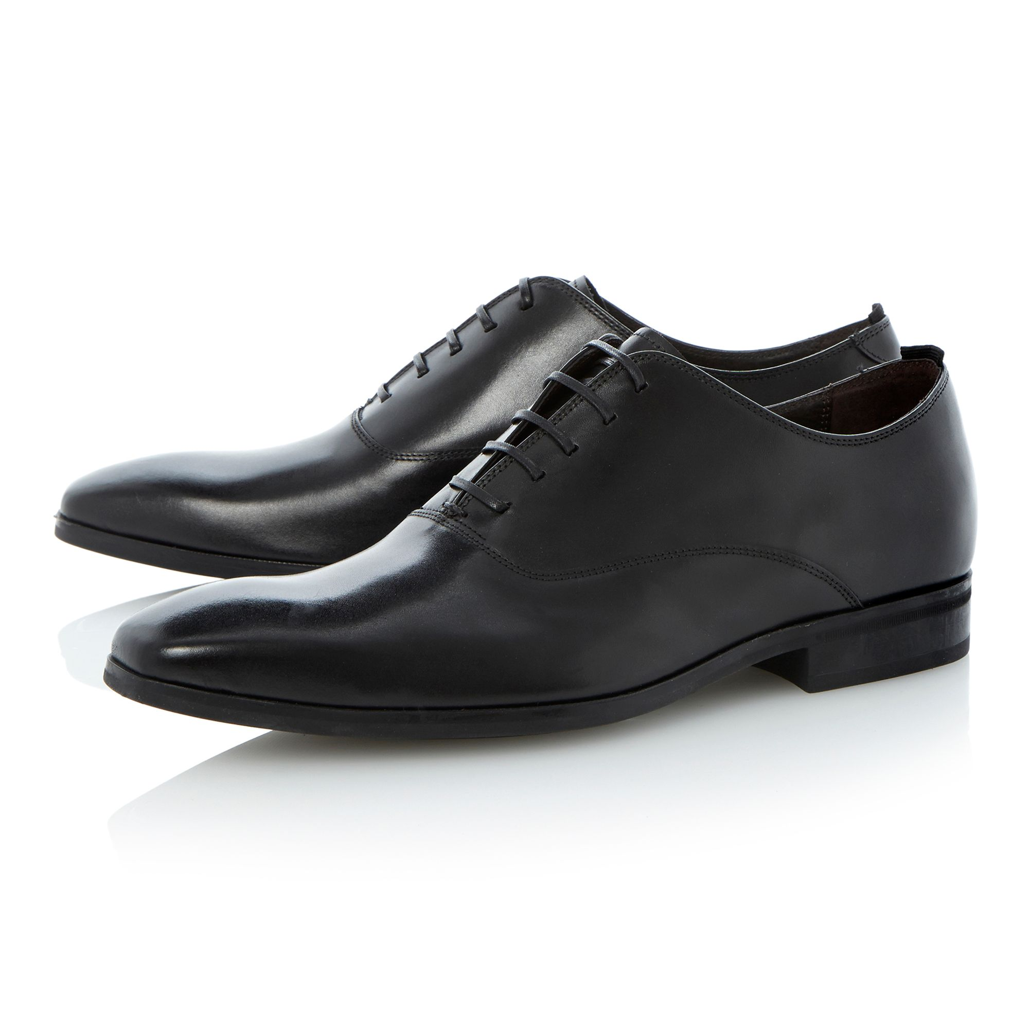 Accountable squared toe oxford shoe