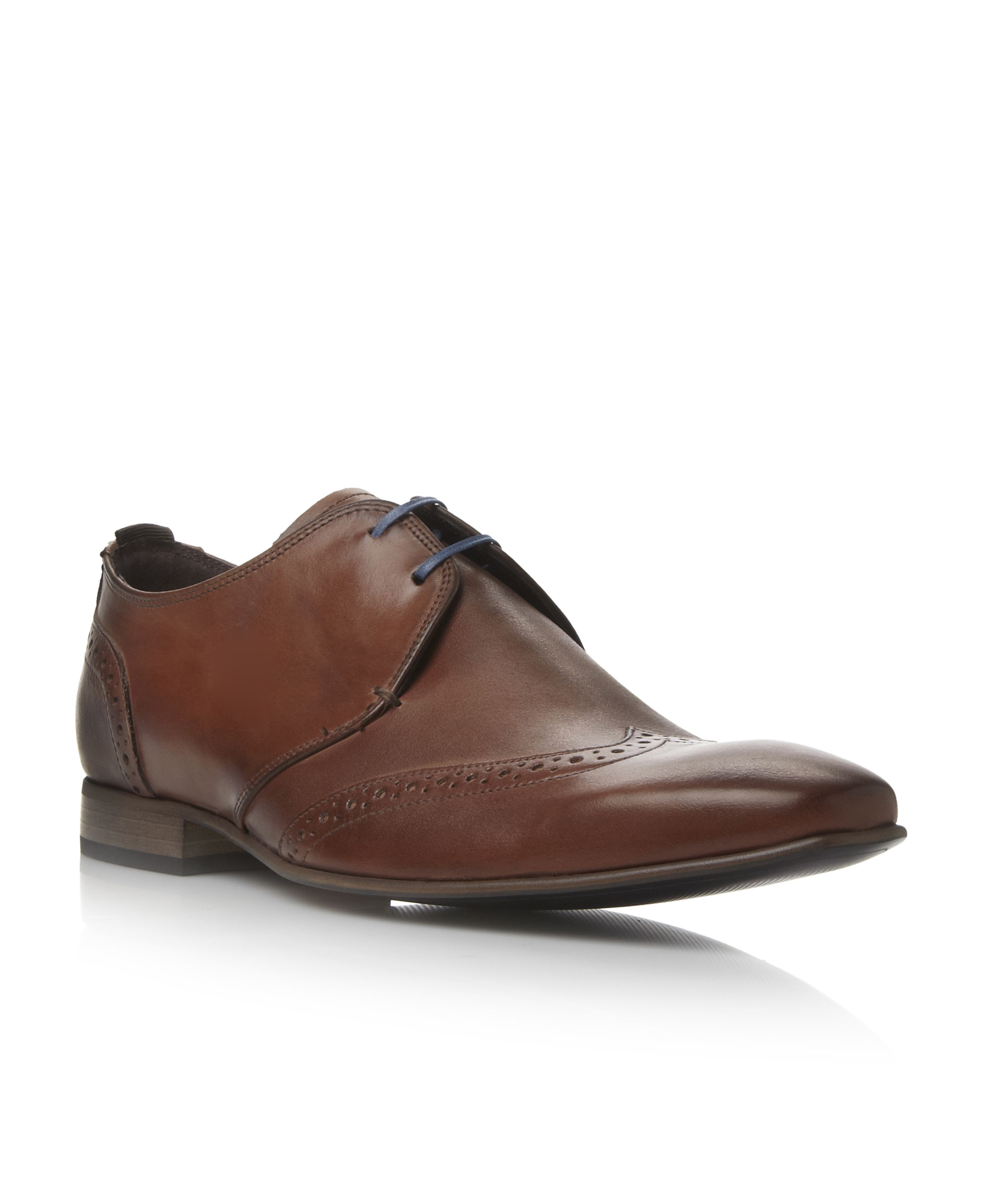 Ashdown lace up wingtip gibson shoes