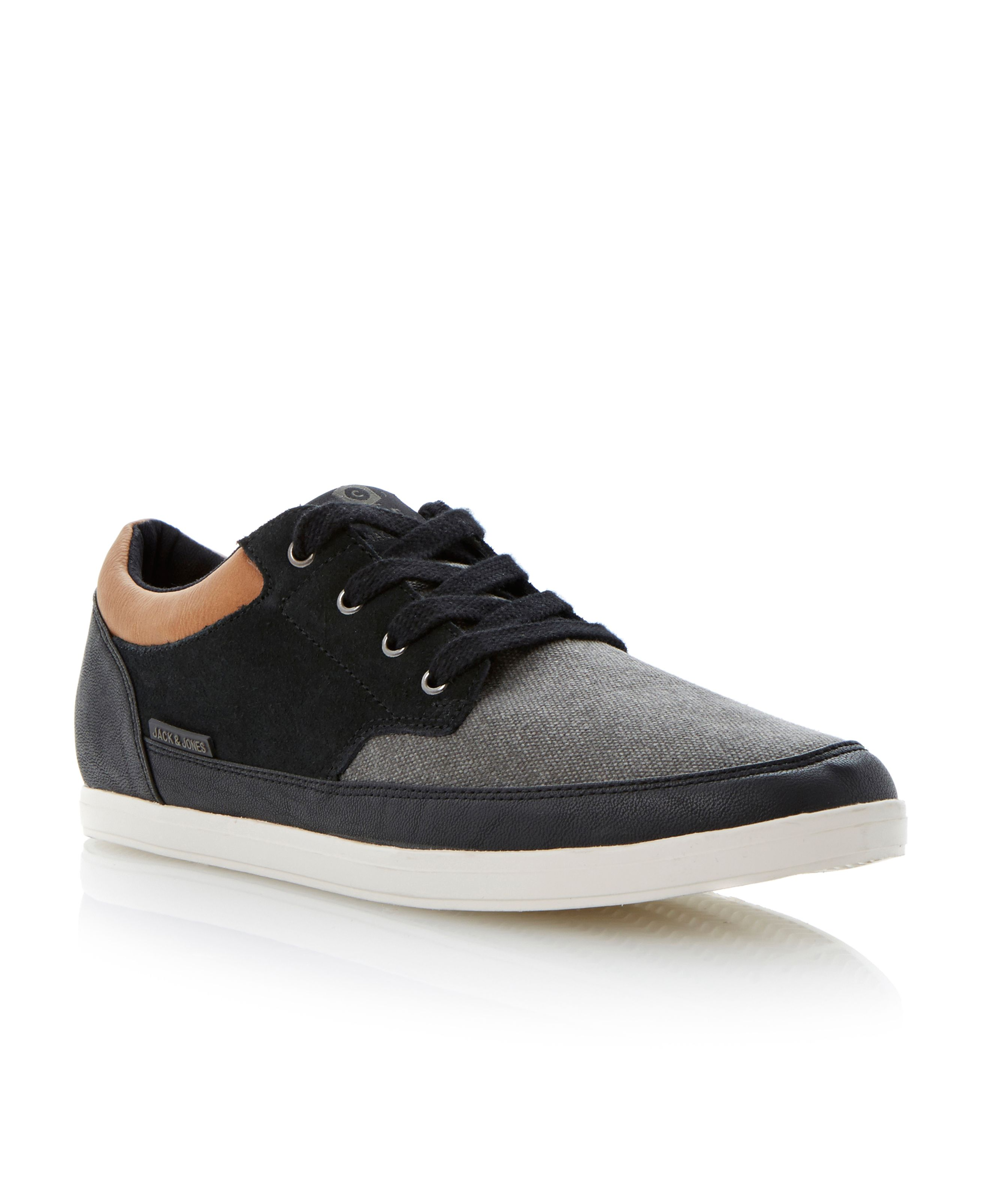 Jj brad core multi tone lace up trainers