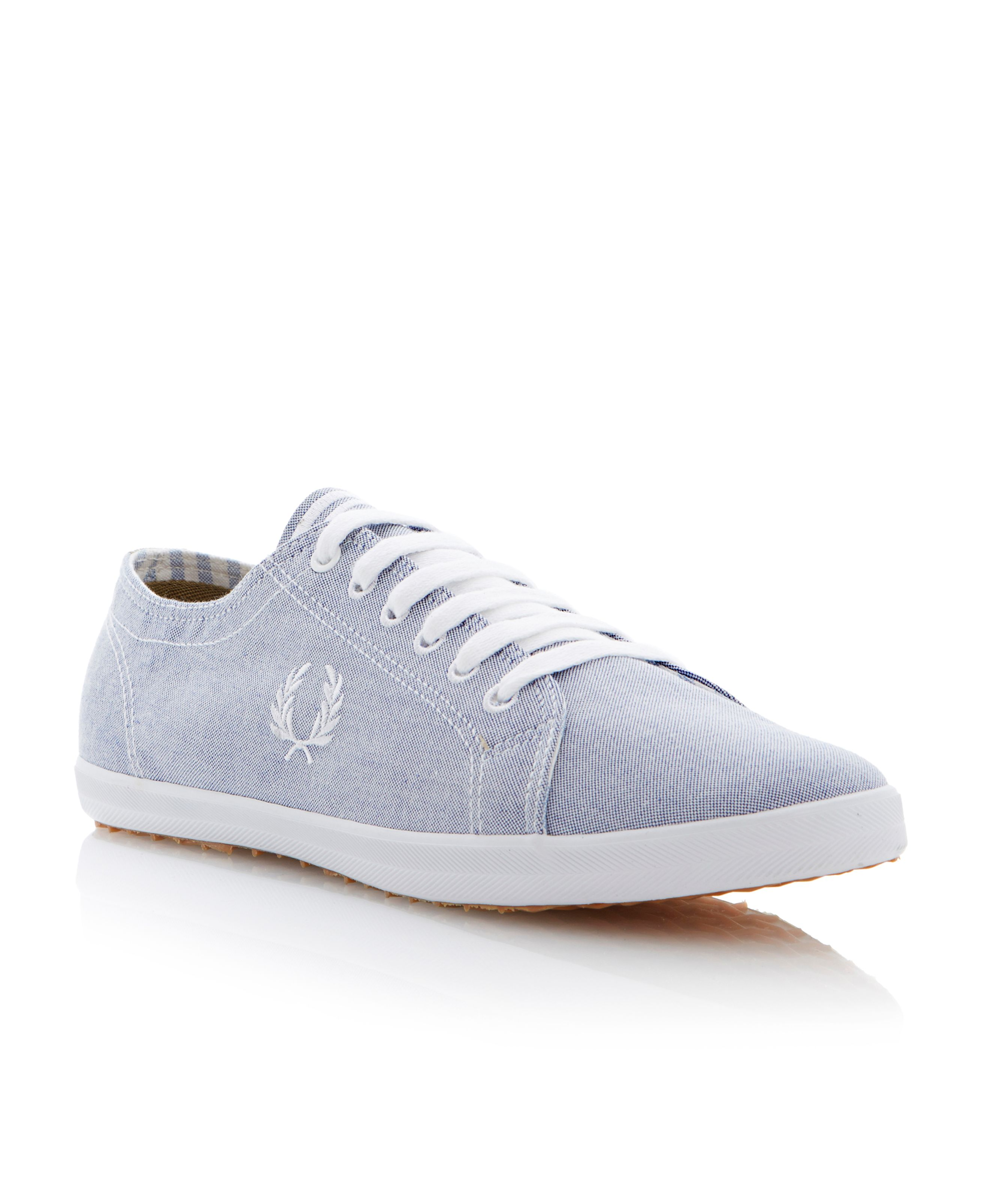 Kingston oxford lace up trainers