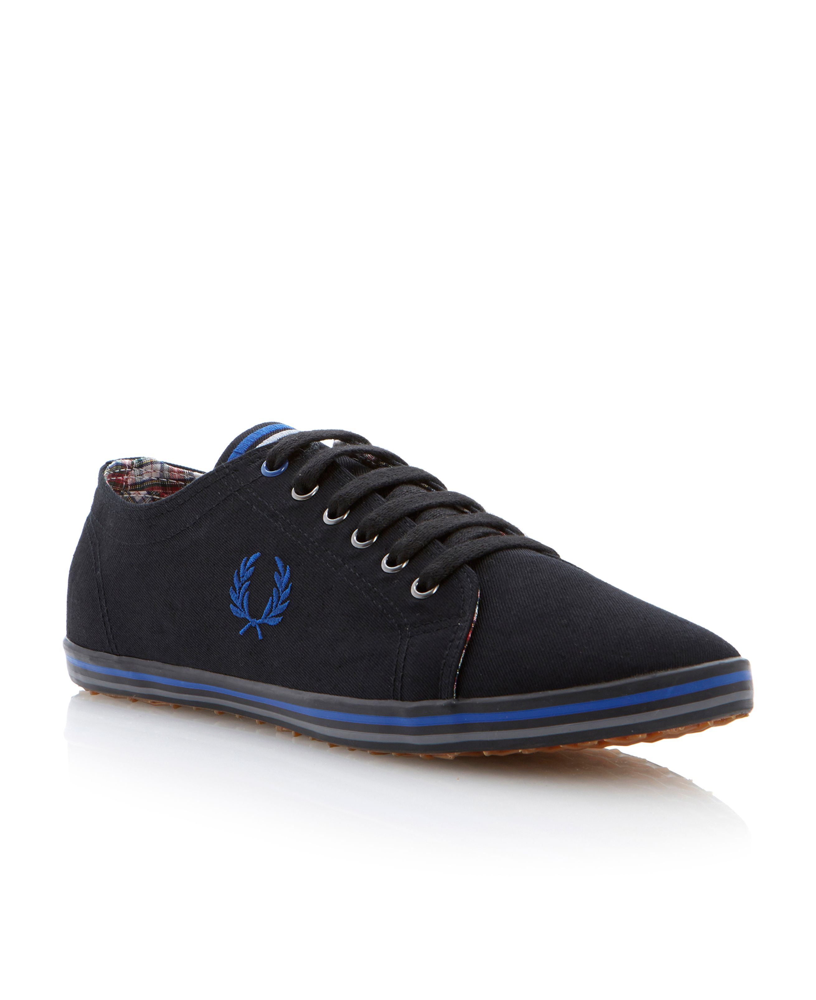 Kingston twill lace up authentic canvas shoes