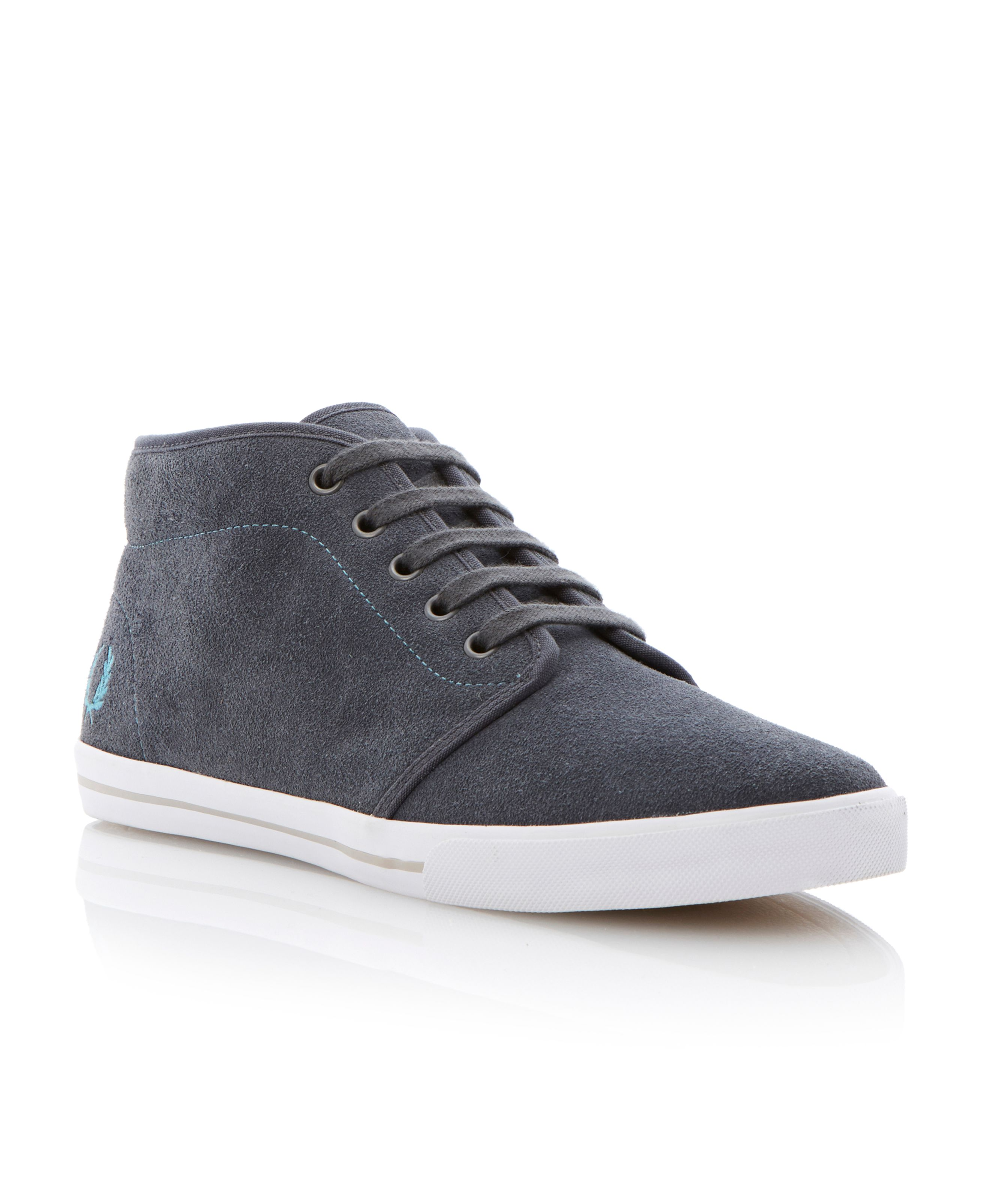 Fletcher suede lace up hi tops