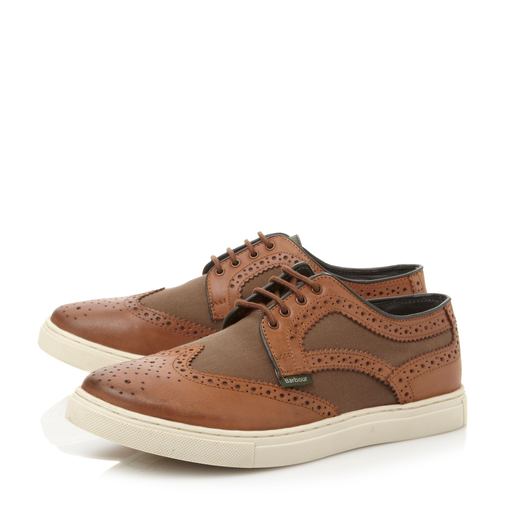 Flastaff lace up trainers