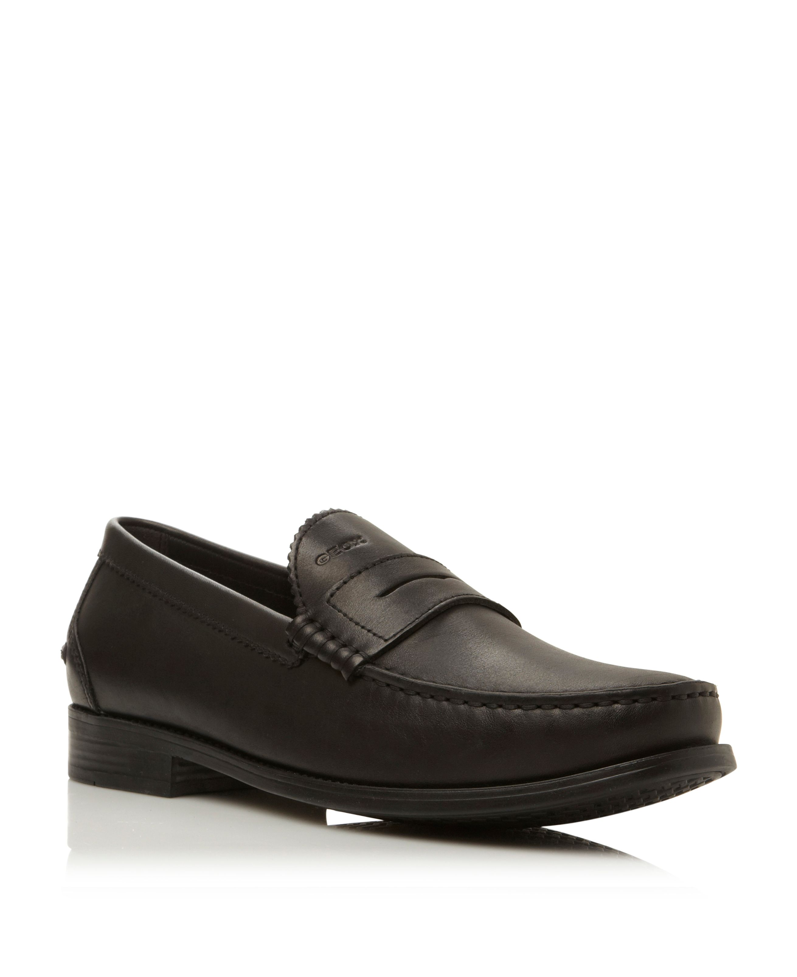 Damon u24w6b lace up smart penny loafers