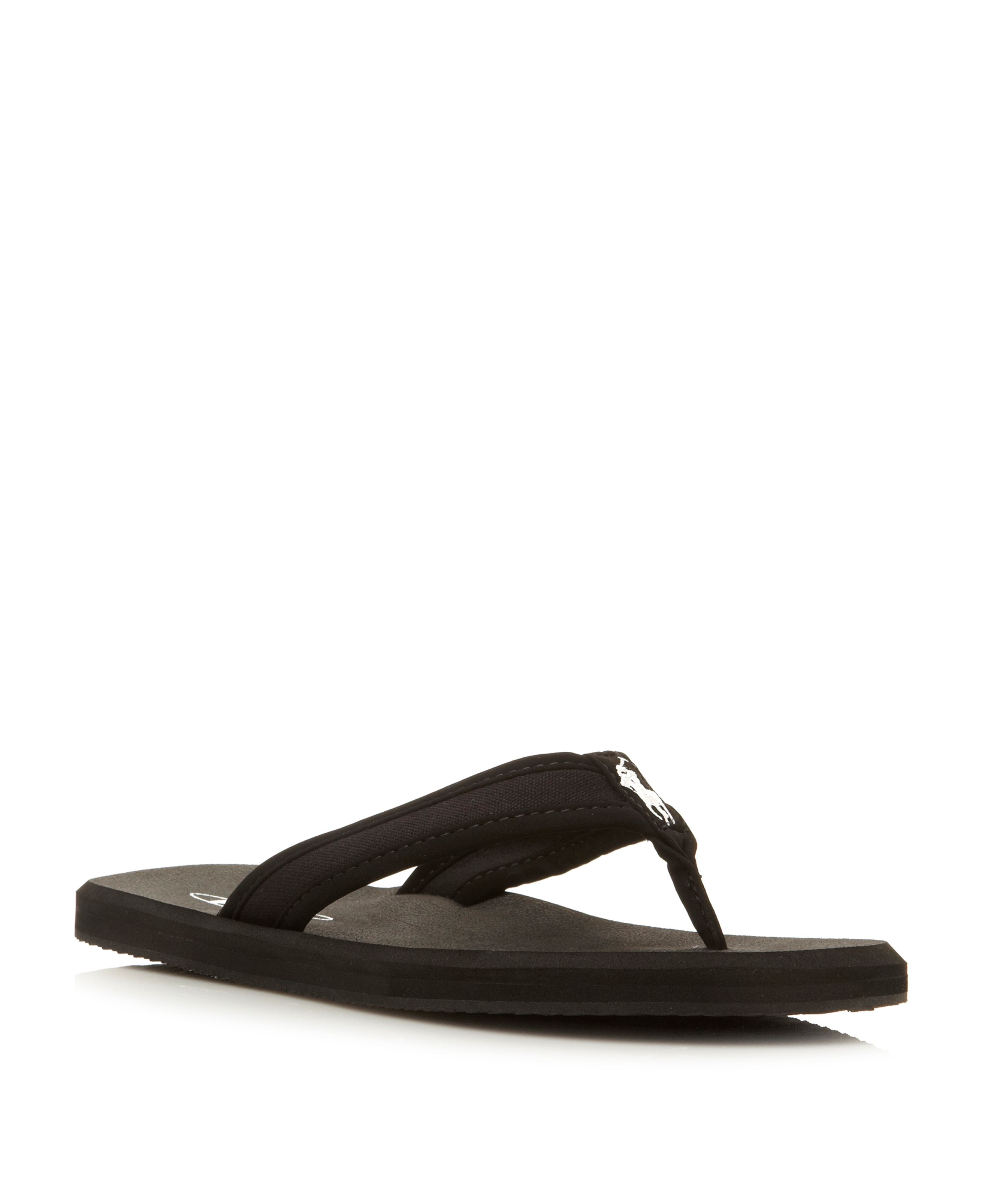 Almer ii  canvas toe post sandals