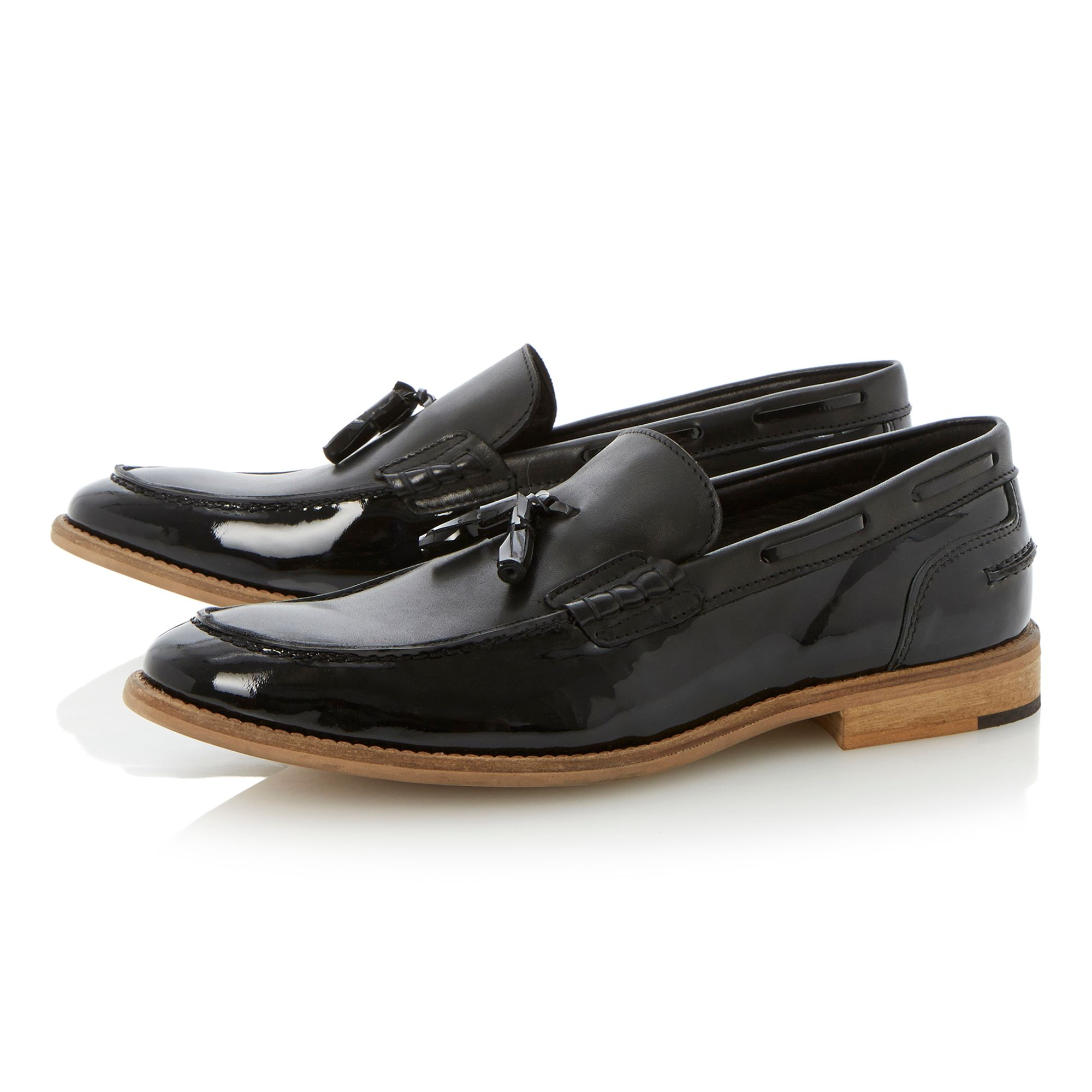 Astoria two tone tassel loafer