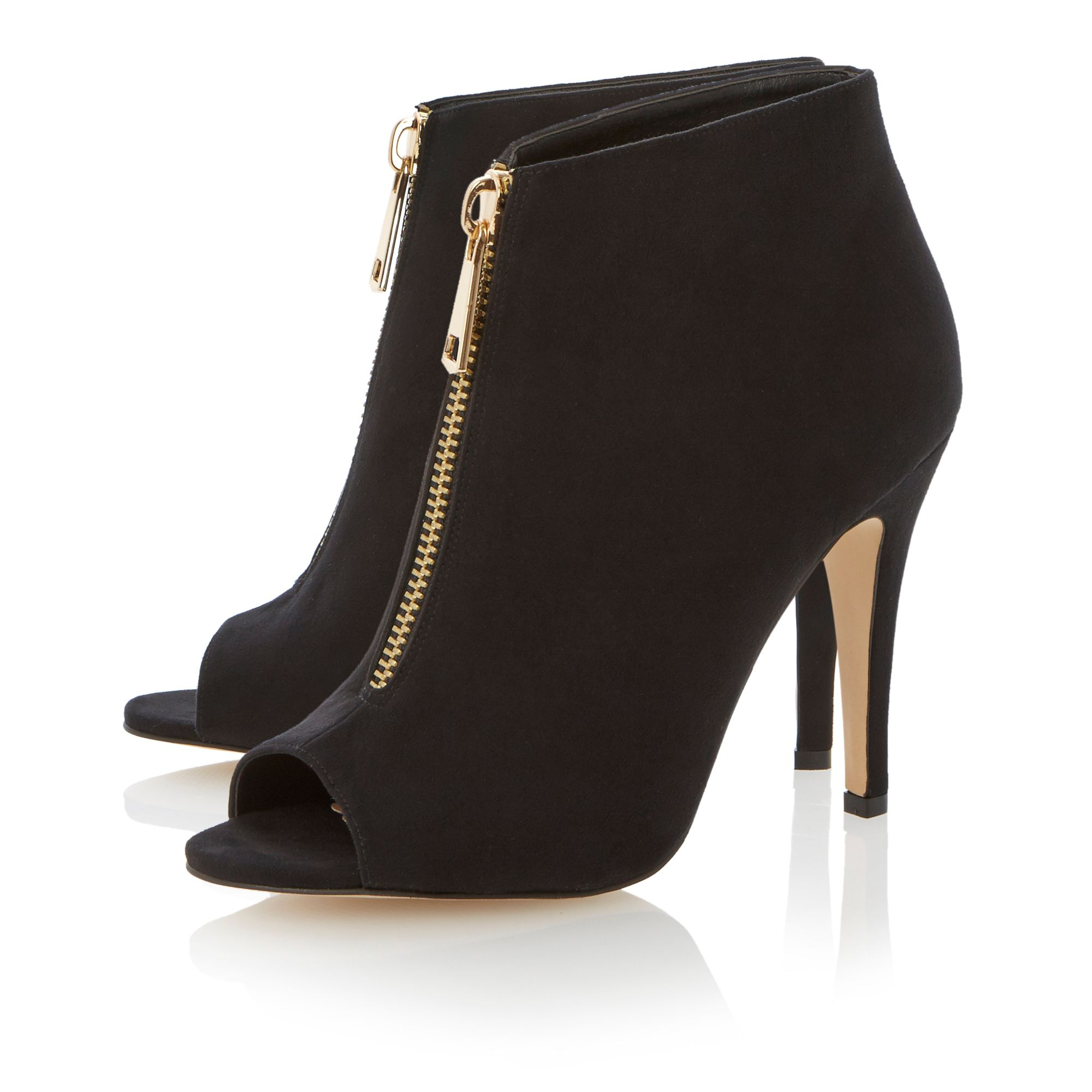 Noleeta peeptoe stiletto low boots