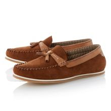 Benno whipstitch mocc loafers
