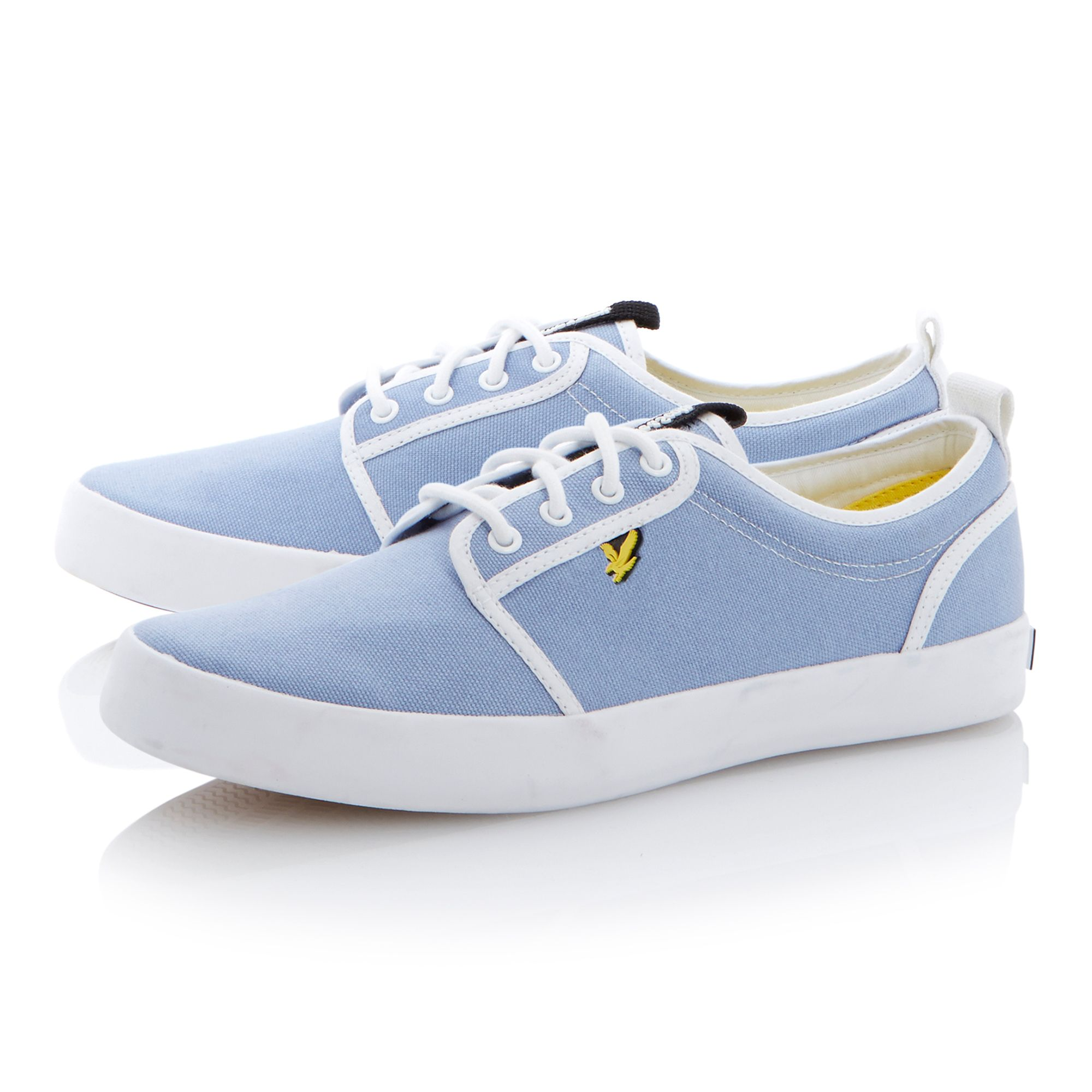 Caol lace up trainers
