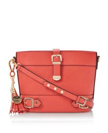 Dyla buckle detail cross body bag