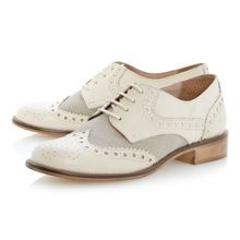 Langbury leather lace up brogue shoes