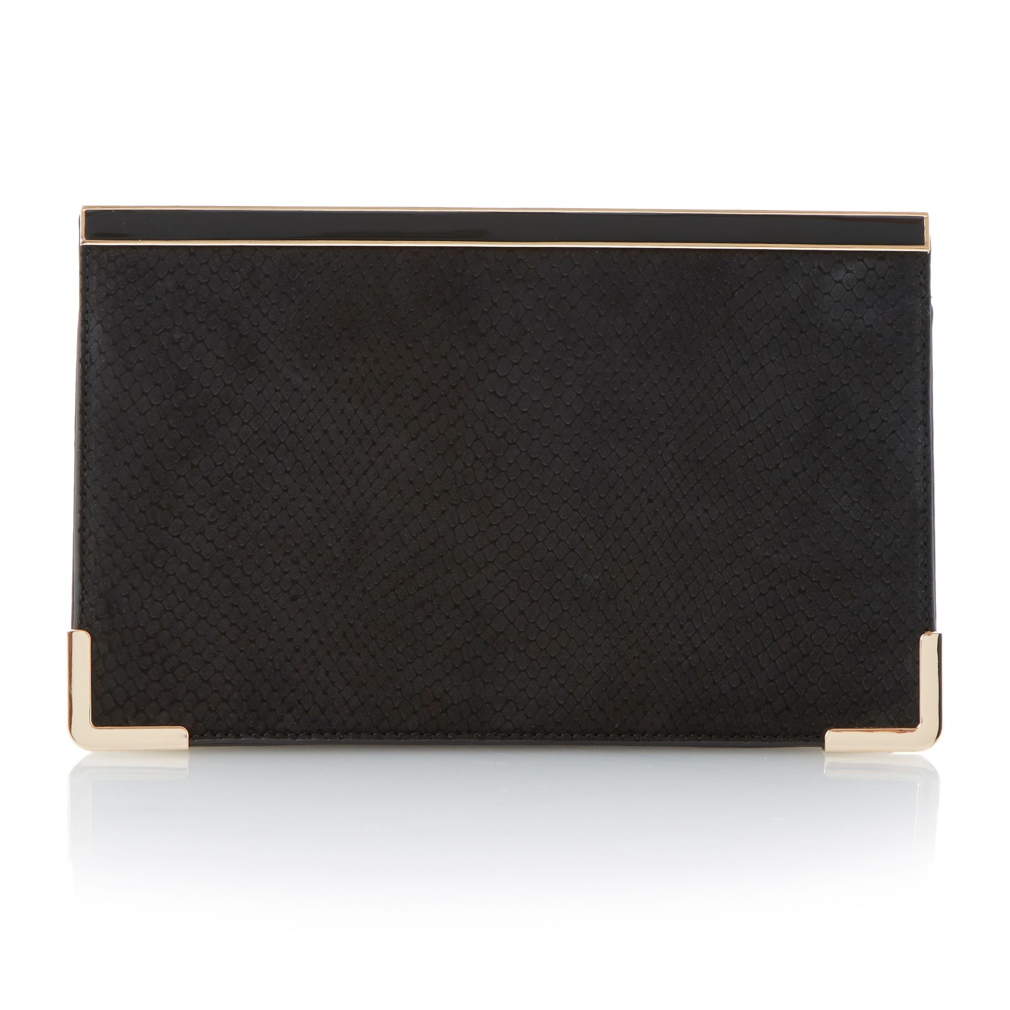 Buskies bar top clutch bag