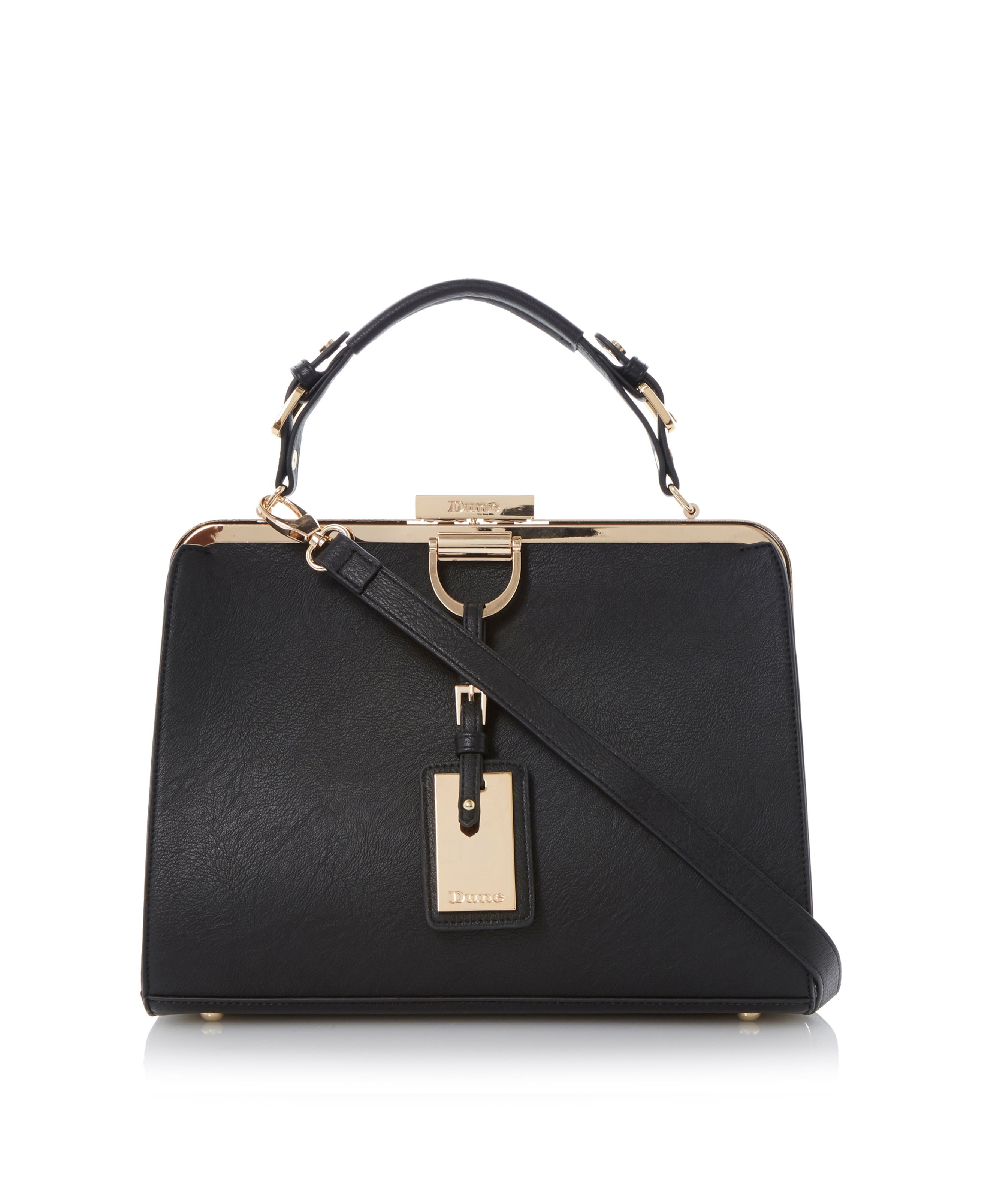 Dalley metal frame detail bag