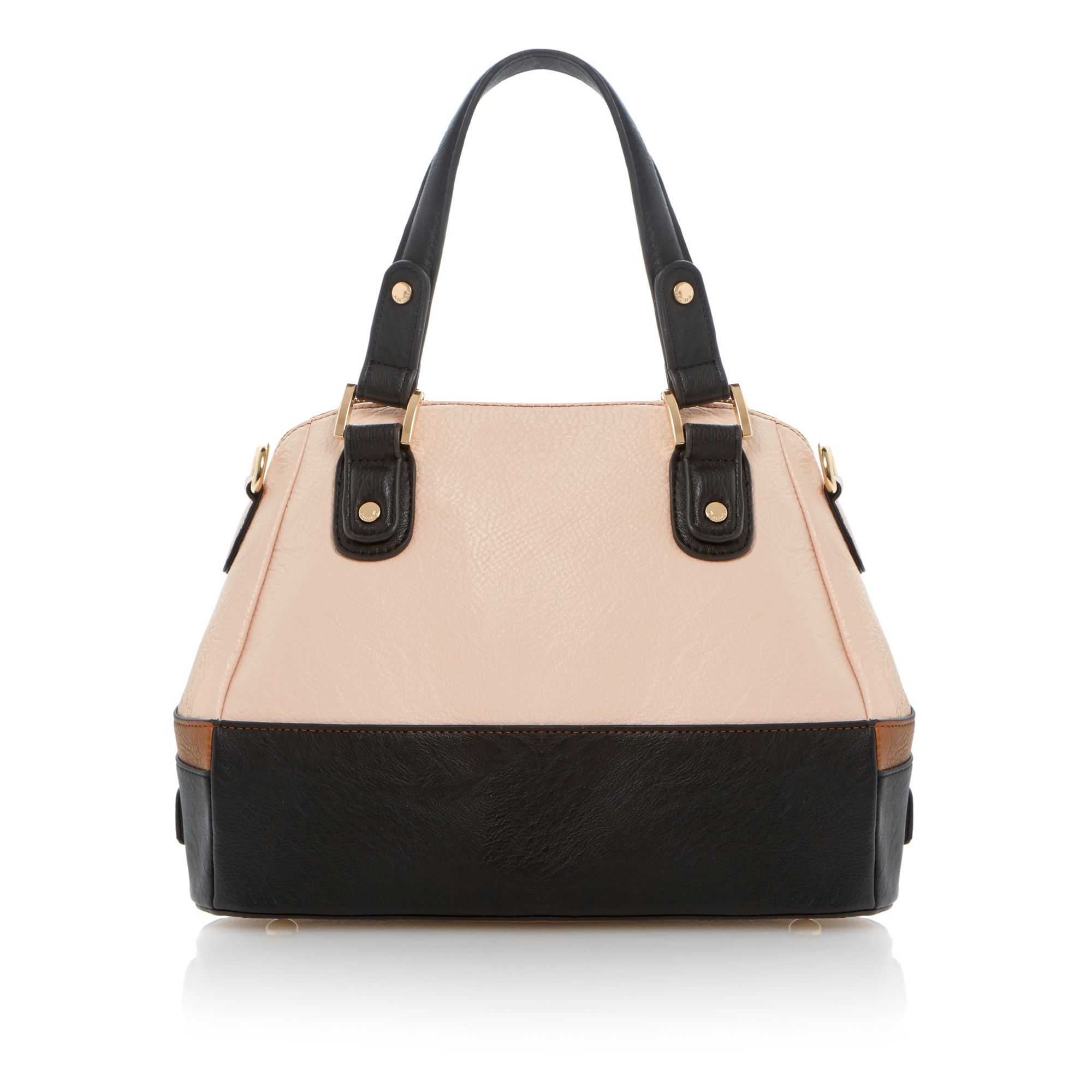 Dazeyzip colour block zip top bag
