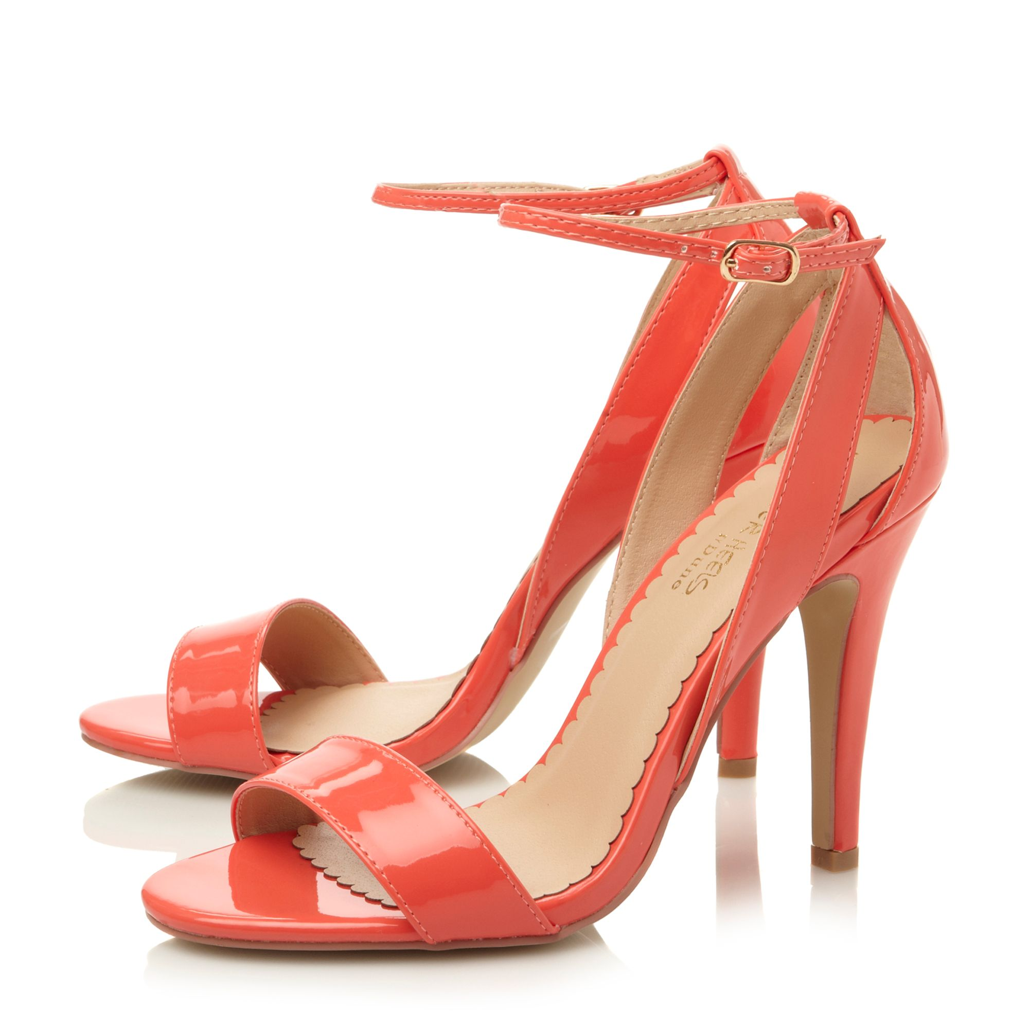 Hoola buckle stiletto dressy sandals