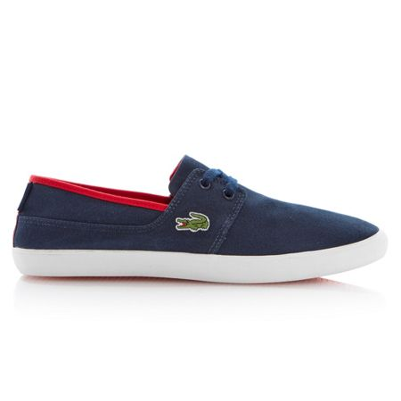 Lacoste Marice lace up boat style shoes