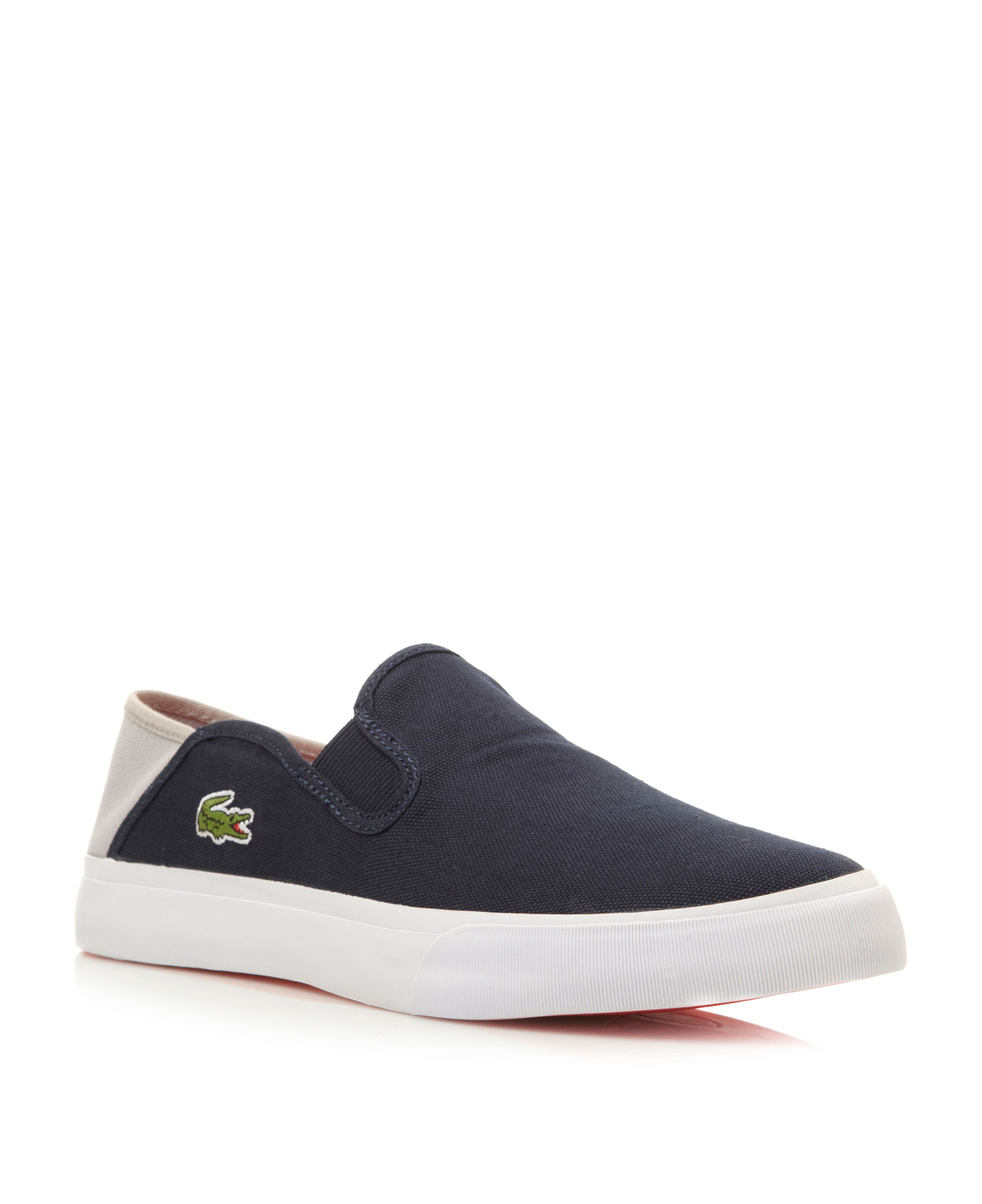 Bellevue contrast slip on casual shoes