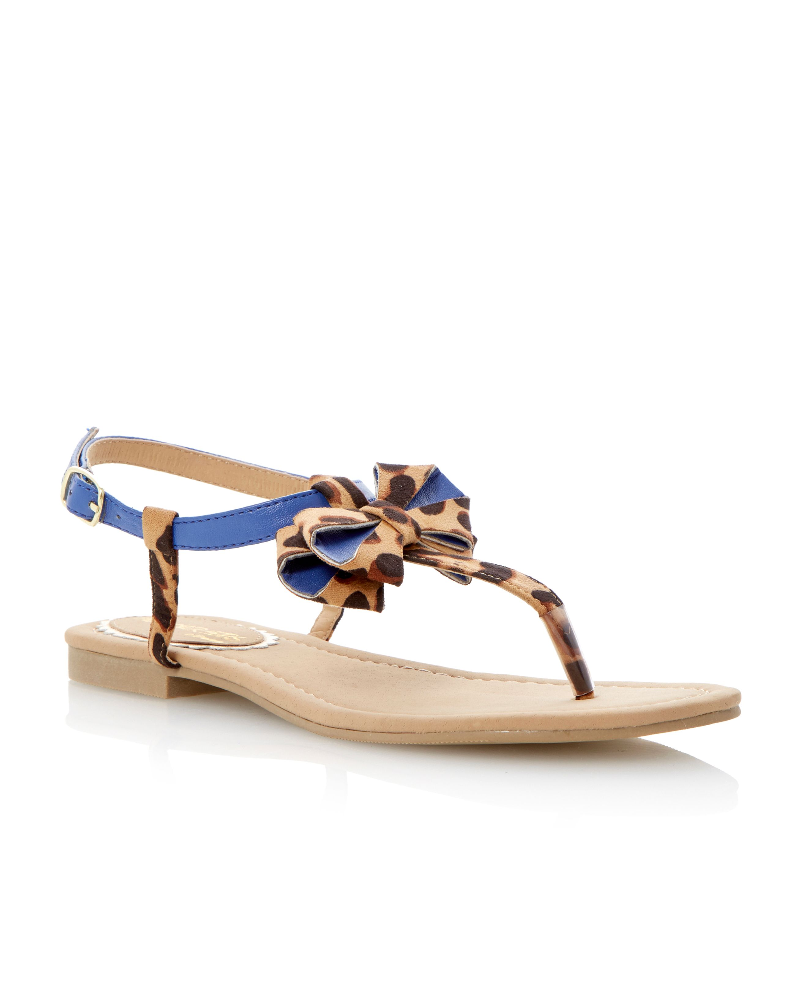 Jillions bow detail flat sandals