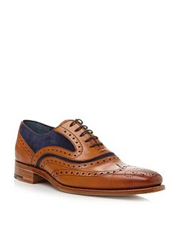 Barker McClean Lace Up Wingtip Brogues
