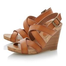 Gumdrop wedge heel sandals