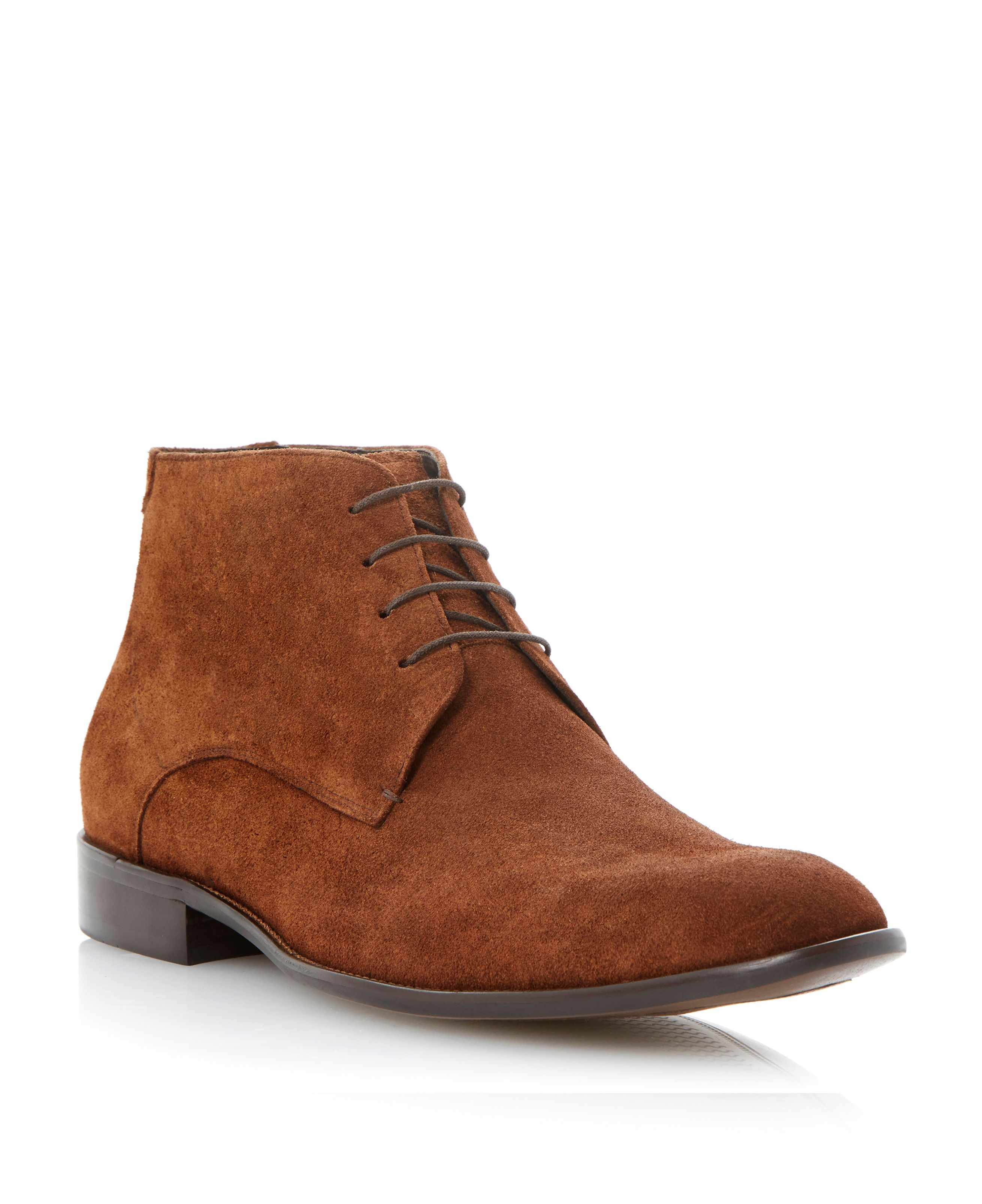 Monte carlo swung toe lace up boot