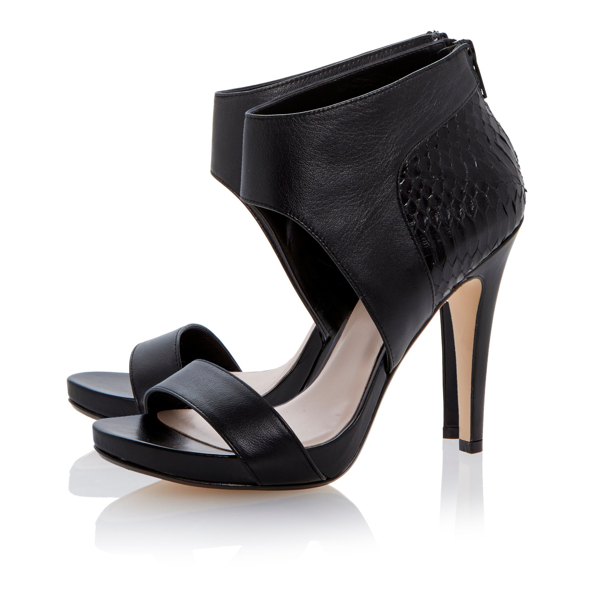 Hanah leather stiletto dressy sandals