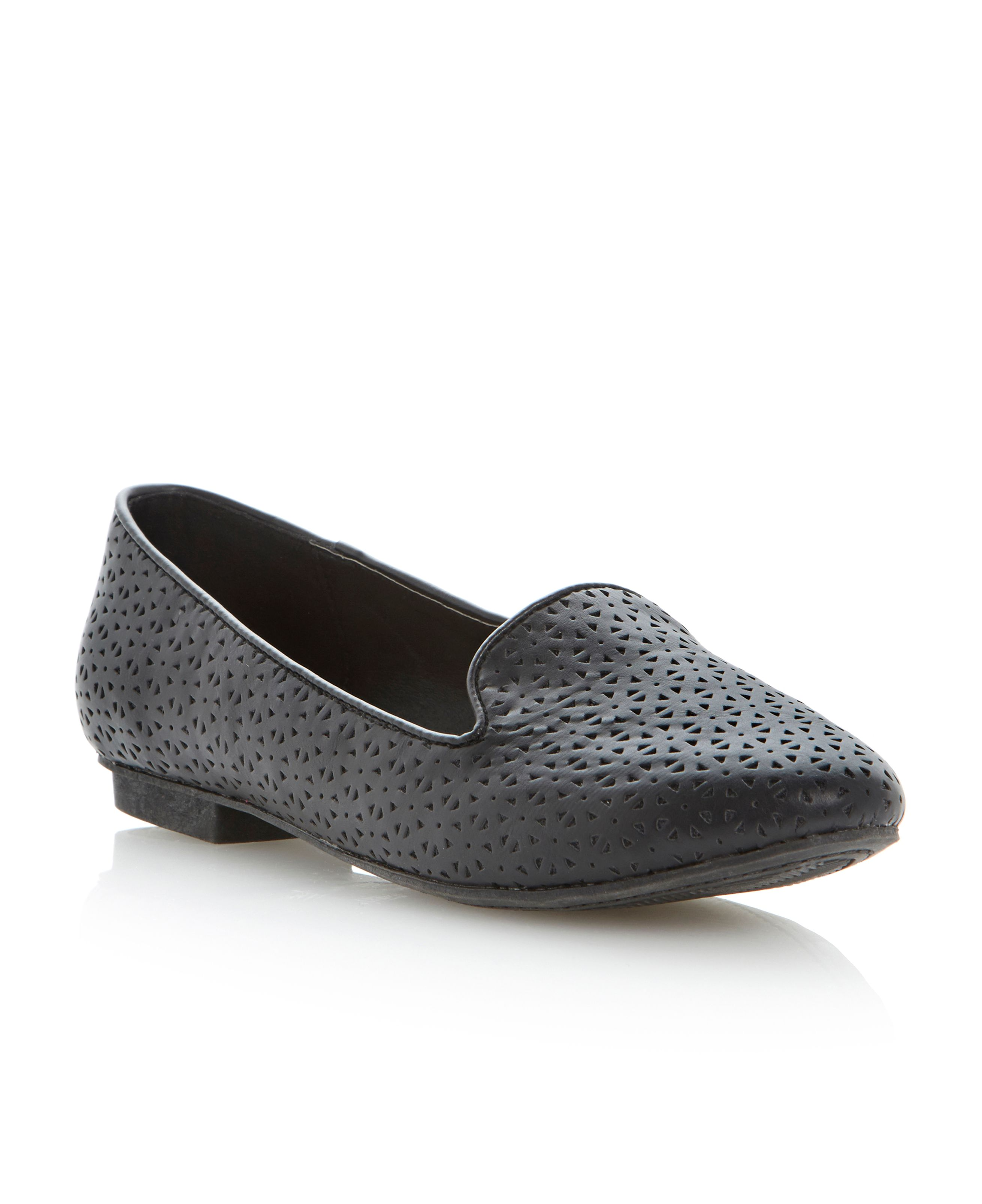 Myleen round toe flat slipper shoes