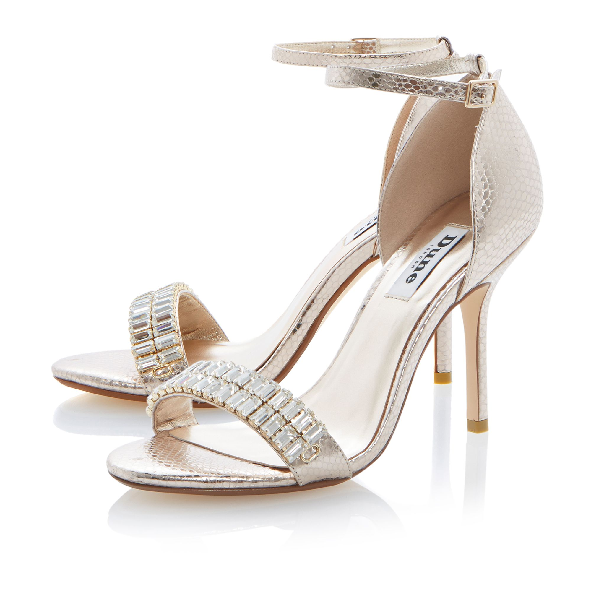 Helena leather stiletto dressy sandals
