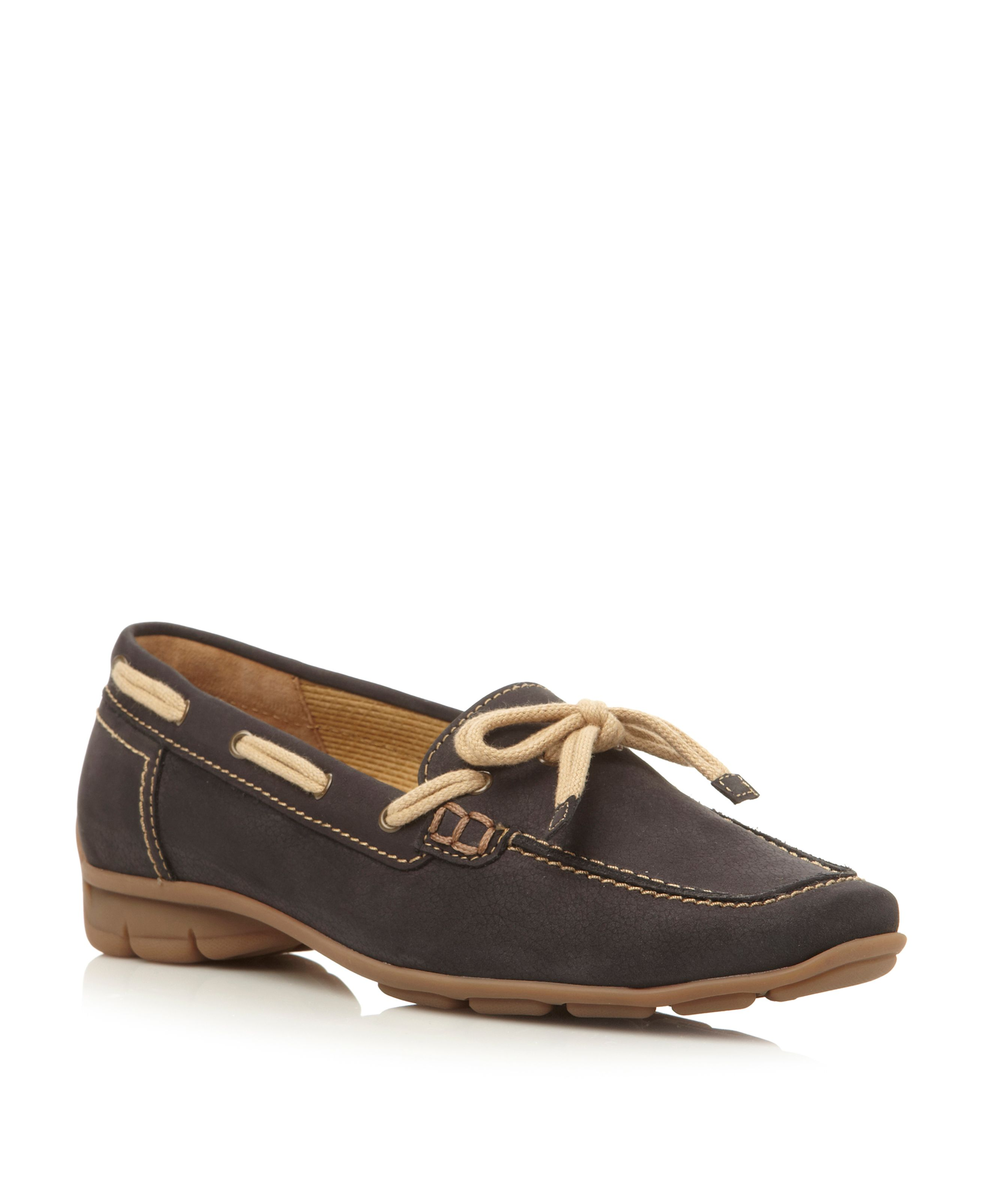 Gabor Obern tie lace loafers