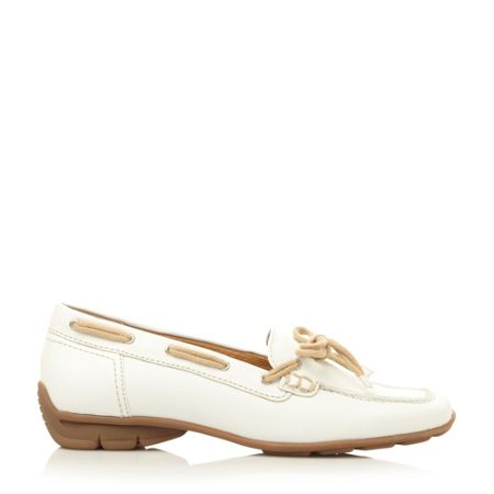 Gabor Obern round toe flat lace loafer shoes