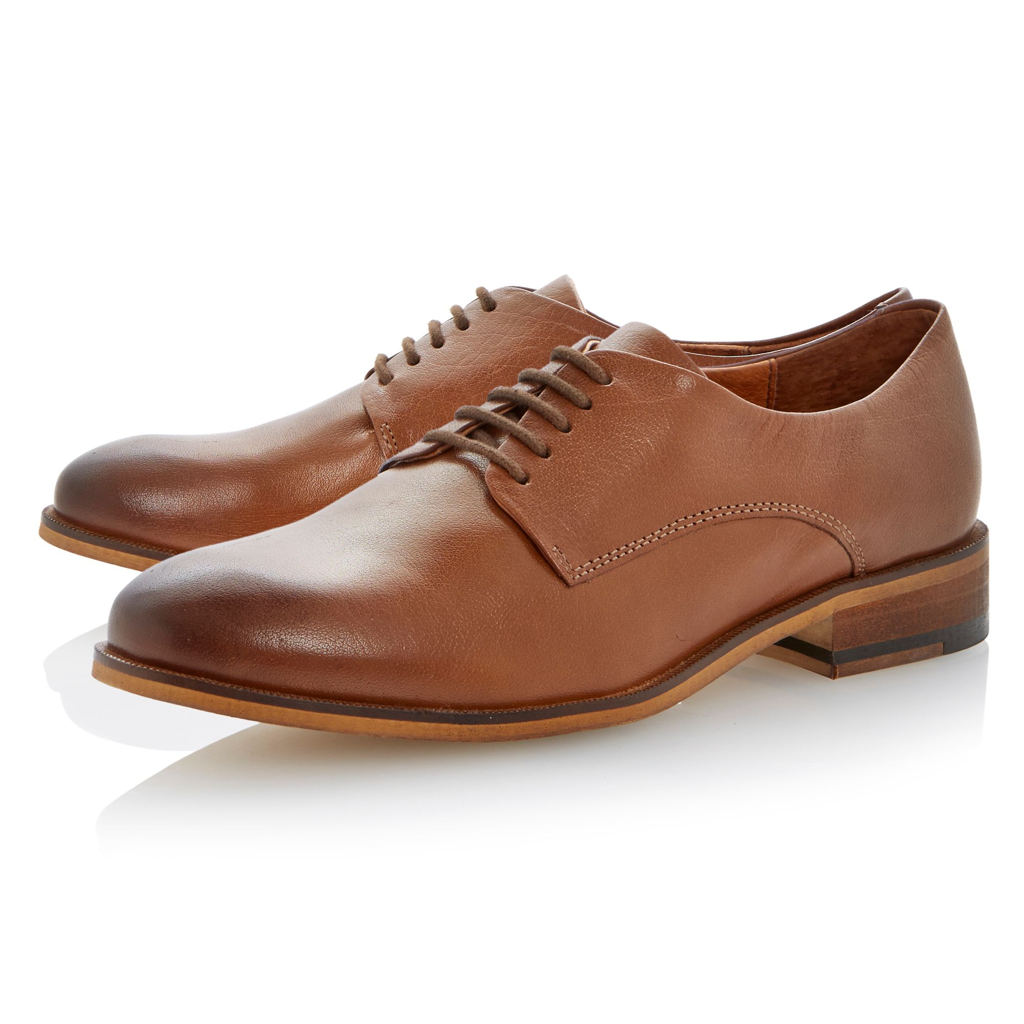 Latter slick lace up shoes