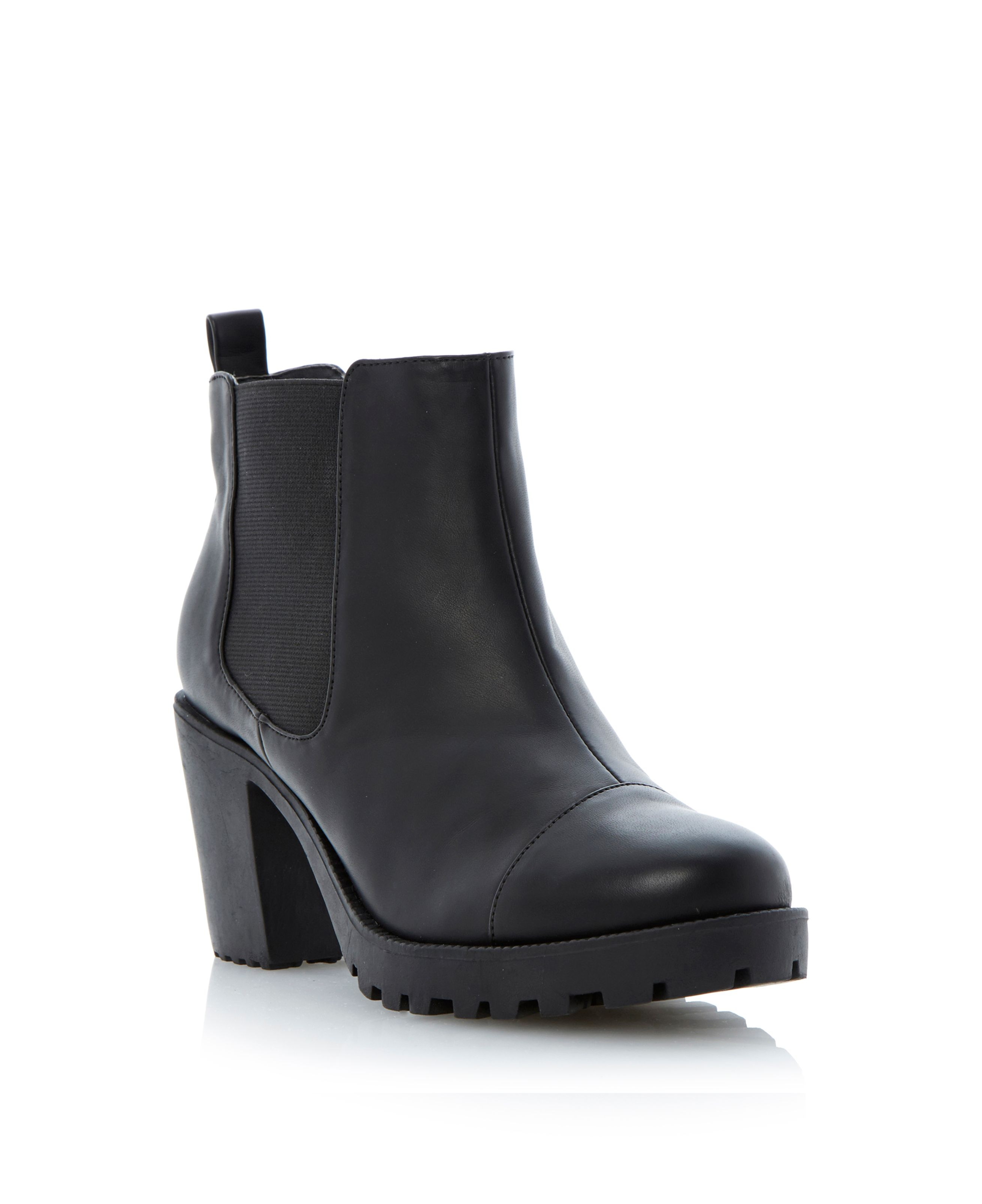 Perriee cleated sole chelsea boots
