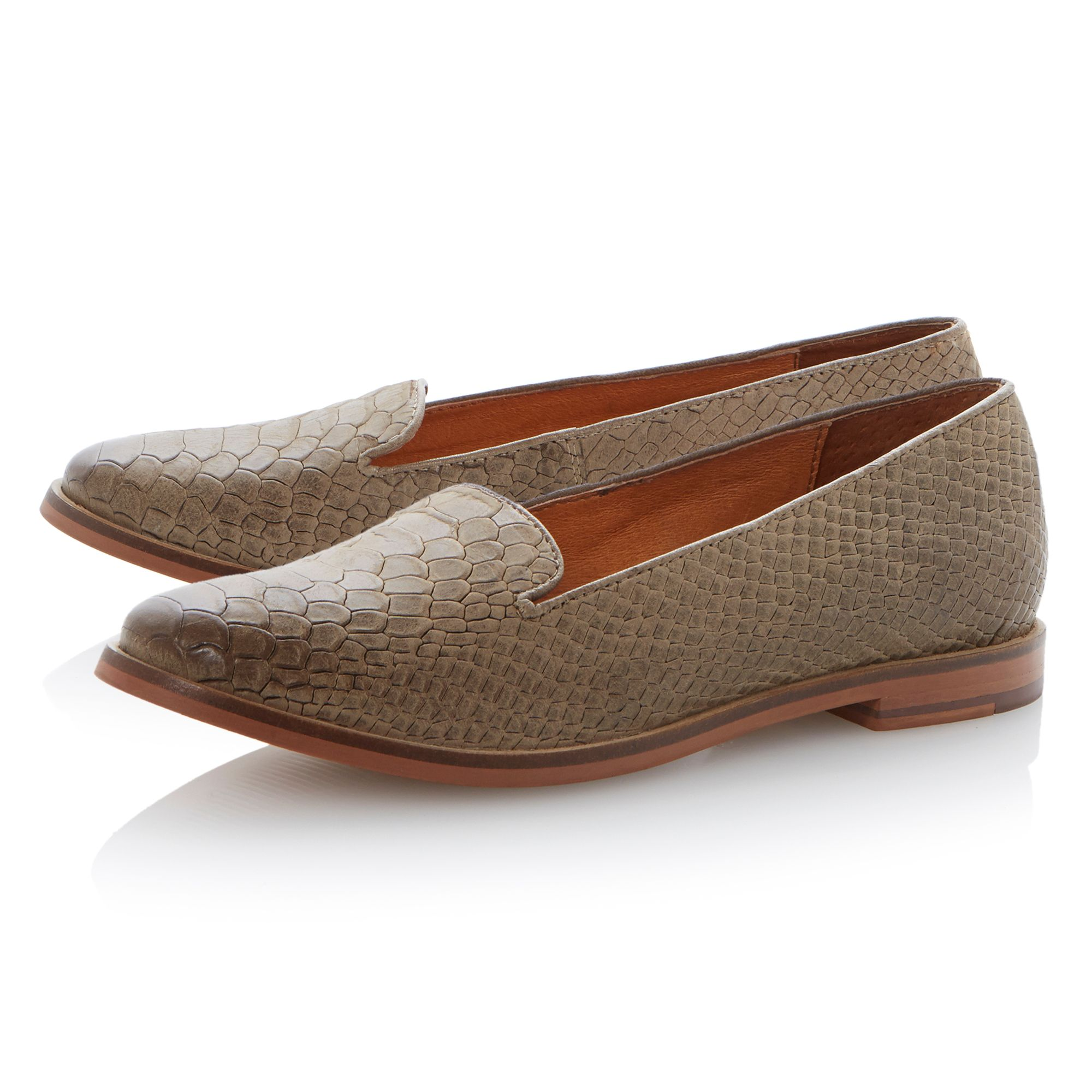 Lampo snake structured slipper shoes
