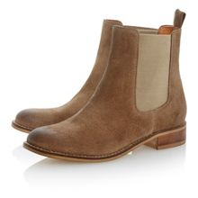 Pearson suede chelsea ankle boots