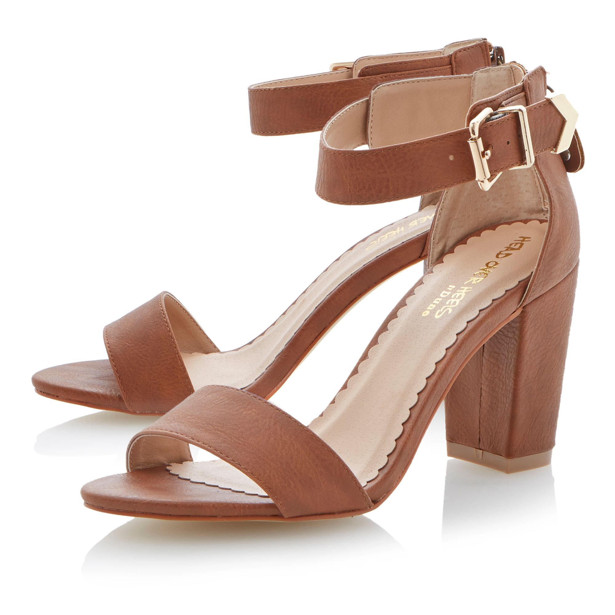 Gepetto block heel buckle sandals