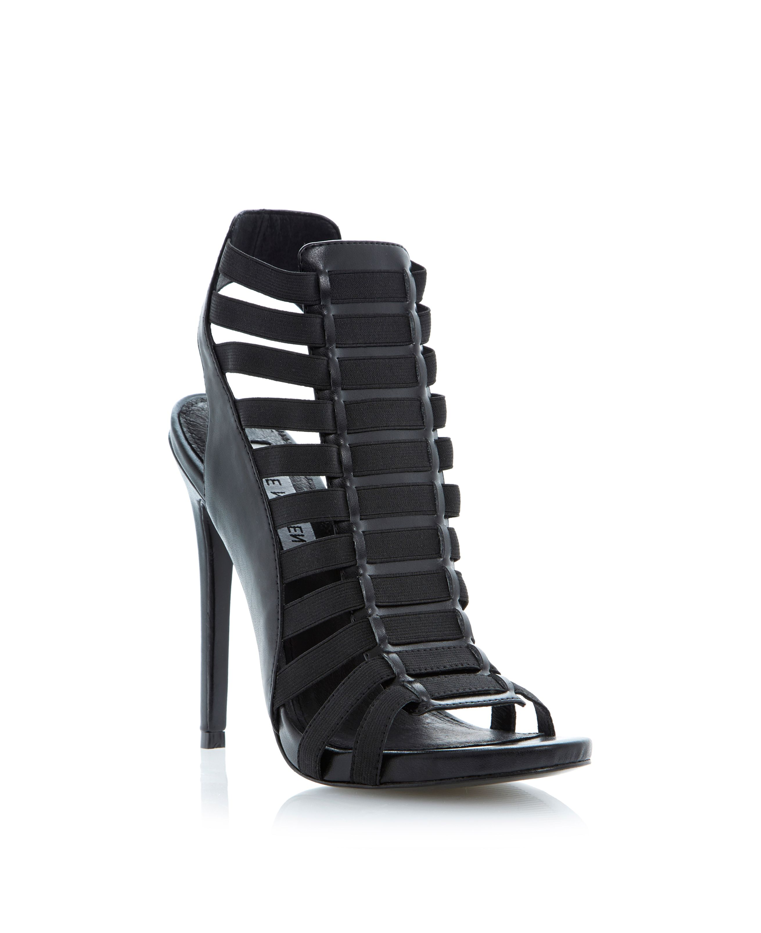 Stretche stiletto sandals