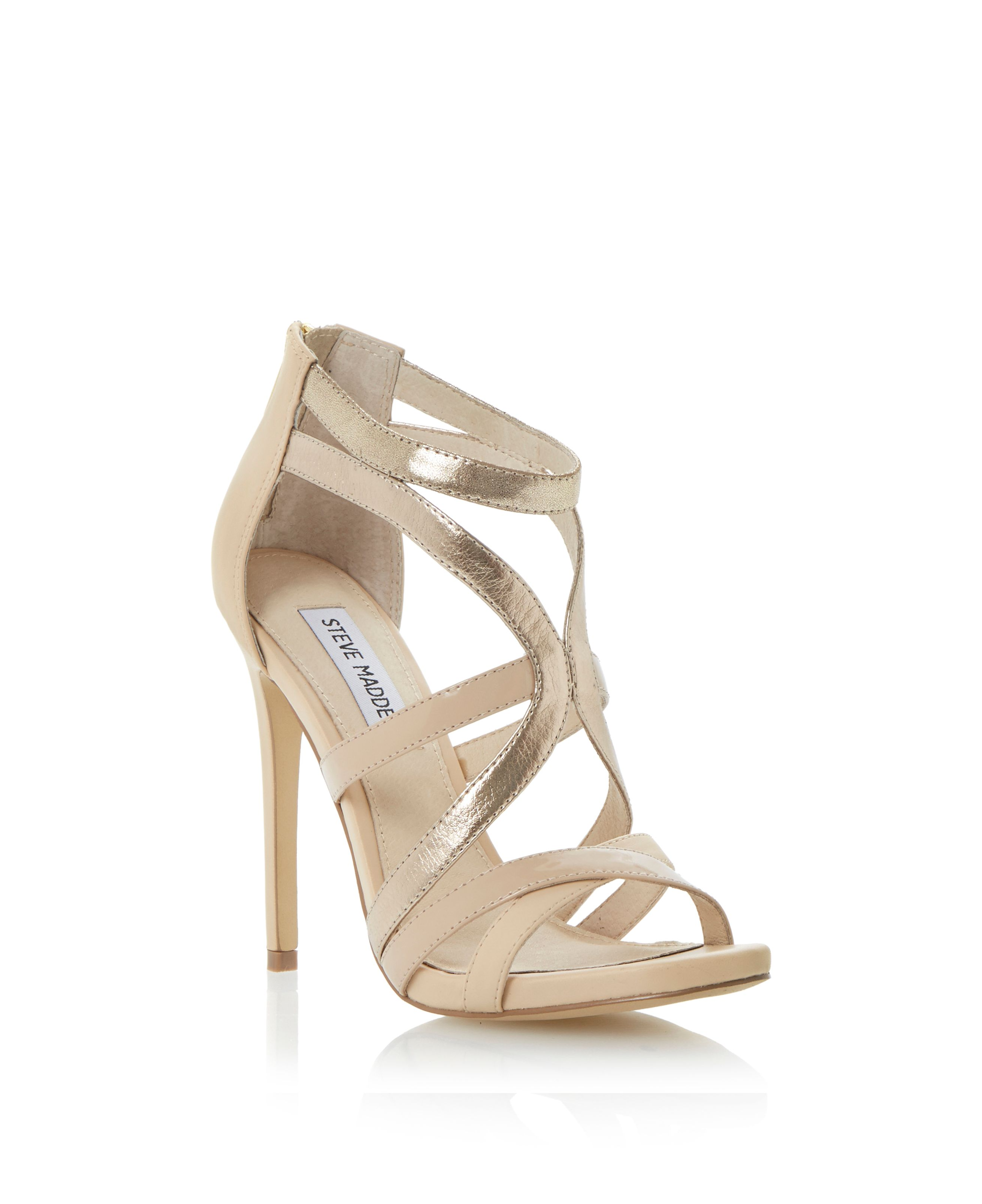 Stella strappy stiletto sandals